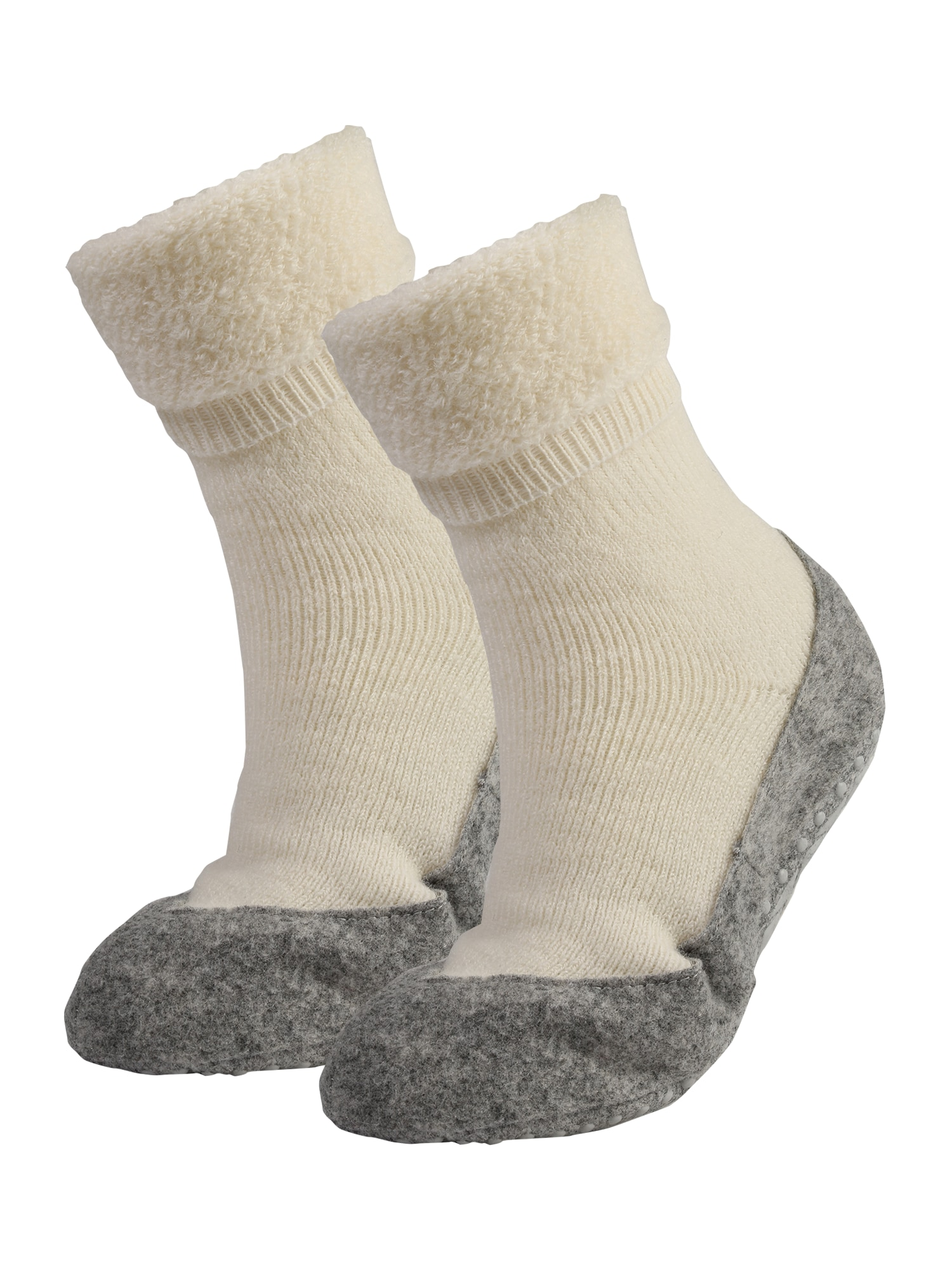 Ponožky Cosyshoe šedá bílá FALKE