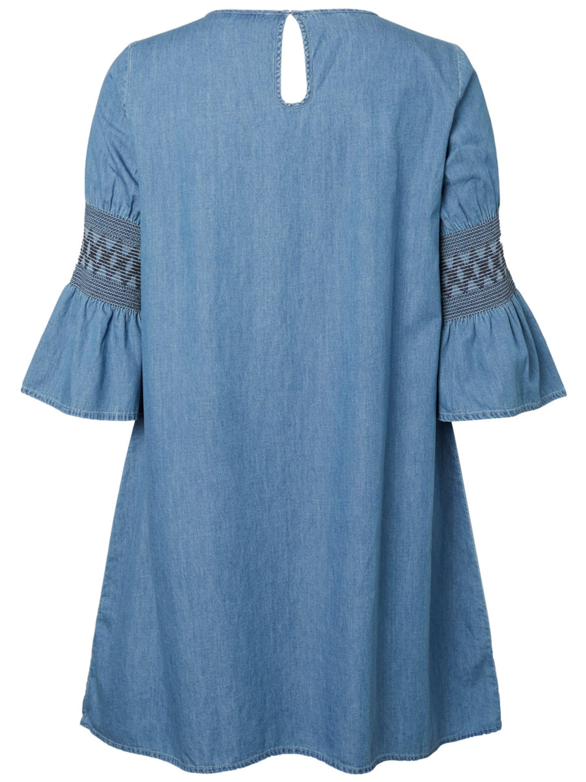 Junarose Sukienka 'Chambray'  niebieski denim