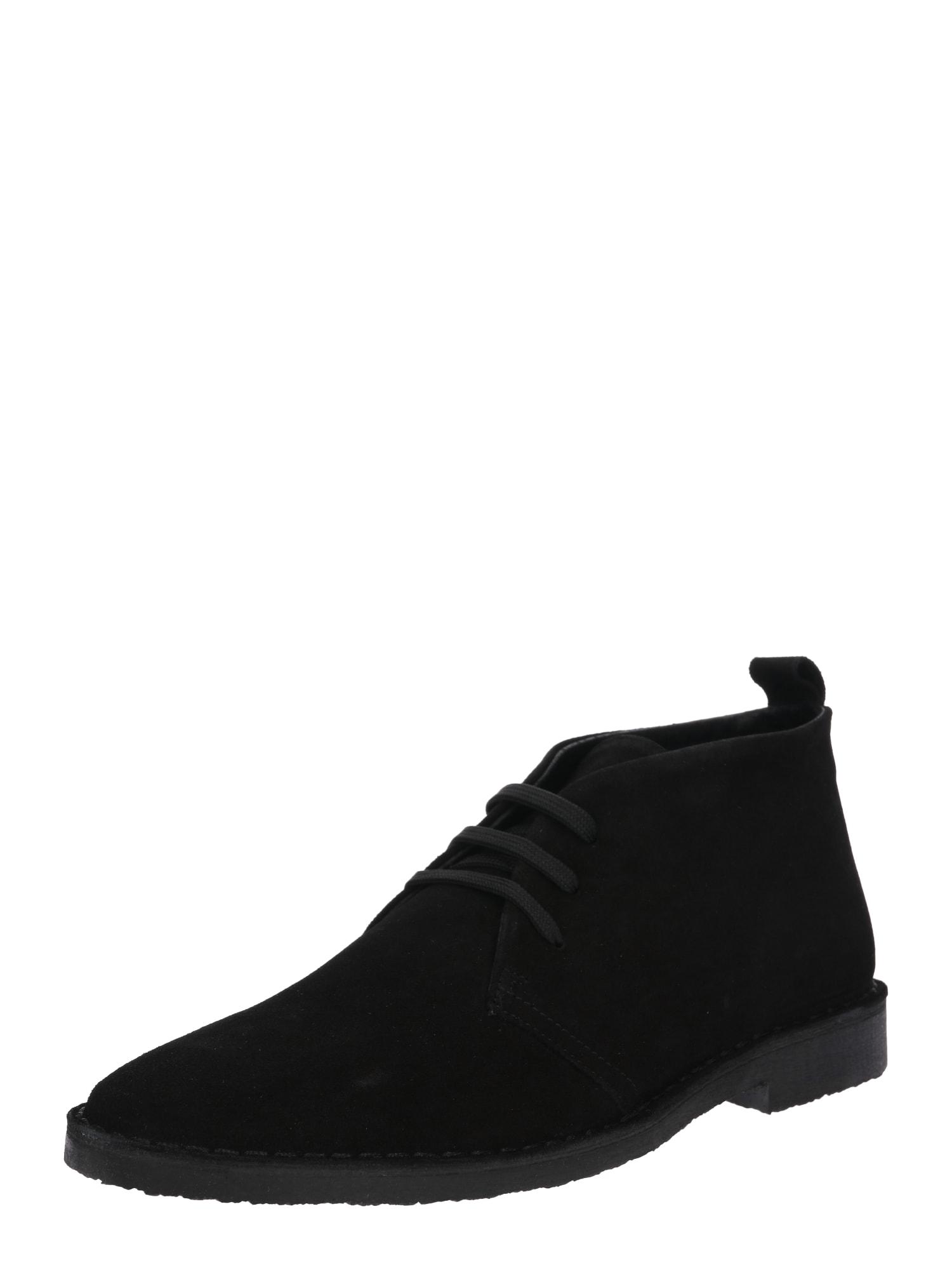 Šněrovací boty Kenan černá ABOUT YOU