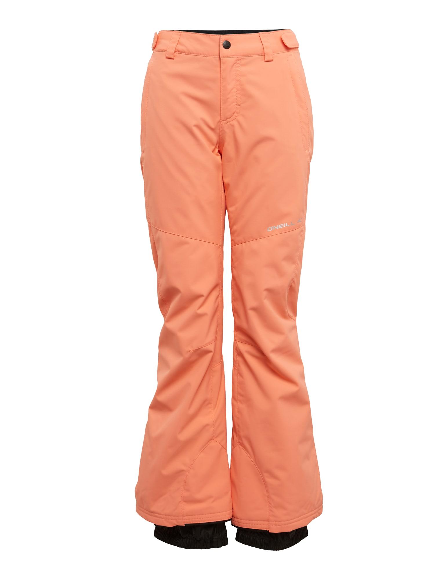 ONEILL Outdoorové kalhoty PG CHARM oranžová černá O'NEILL
