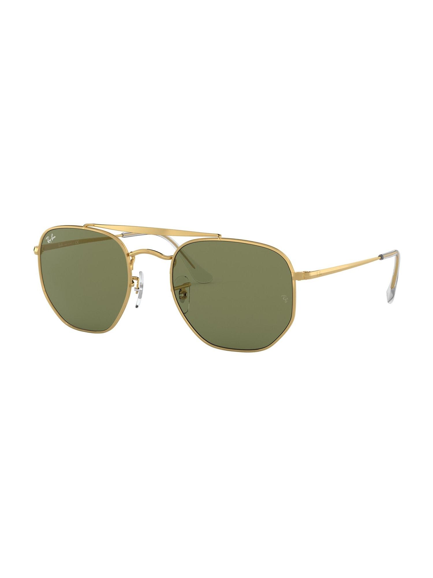 Ray-Ban Sluneční brýle 'Marshal'  černá / zlatá