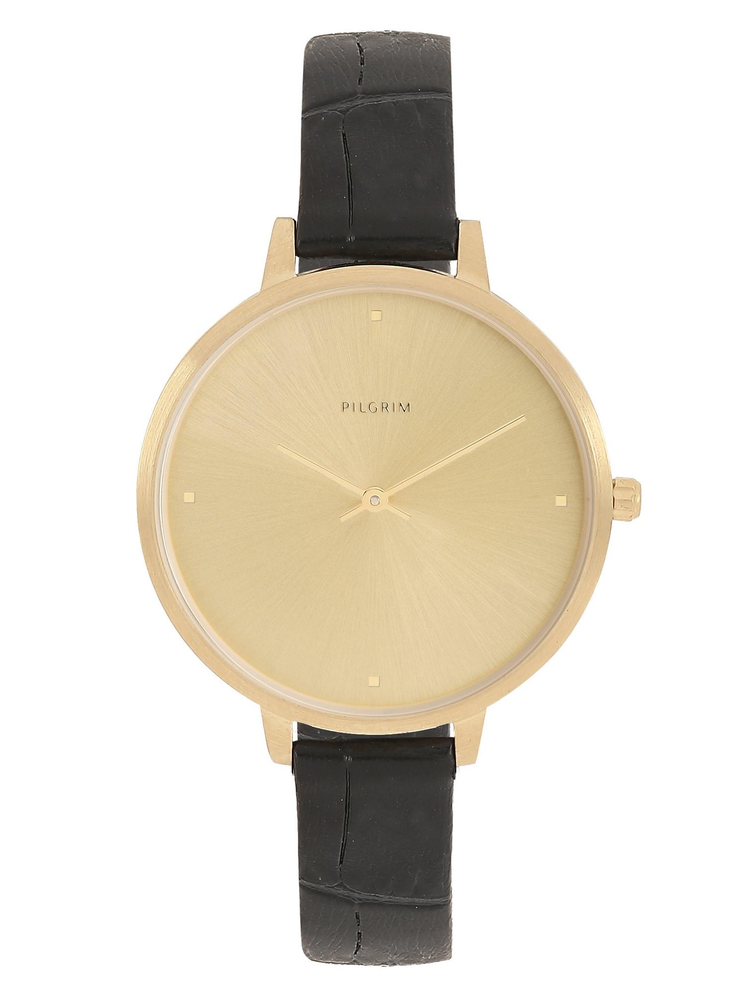 Analogové hodinky Brooke zlatá černá Pilgrim