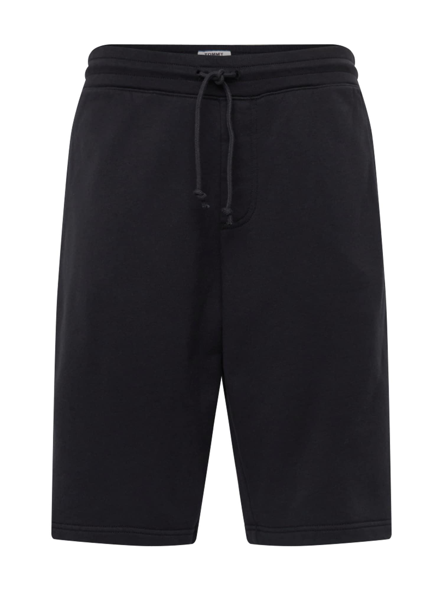 Kalhoty TJM TOMMY CLASSICS SWEATSHORT černá Tommy Jeans