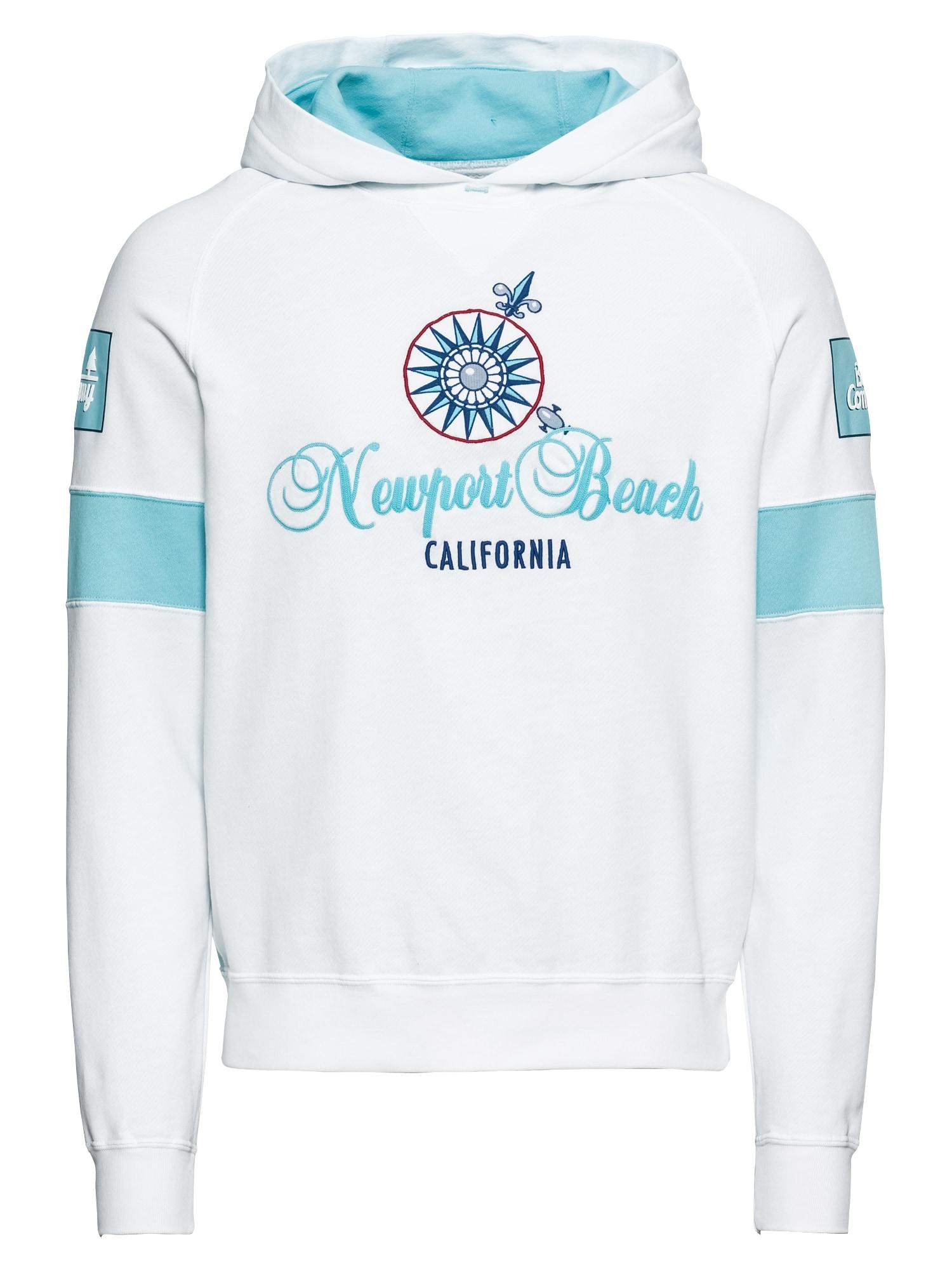 Best Company, Dames Sweatshirt 'HOODED', wit
