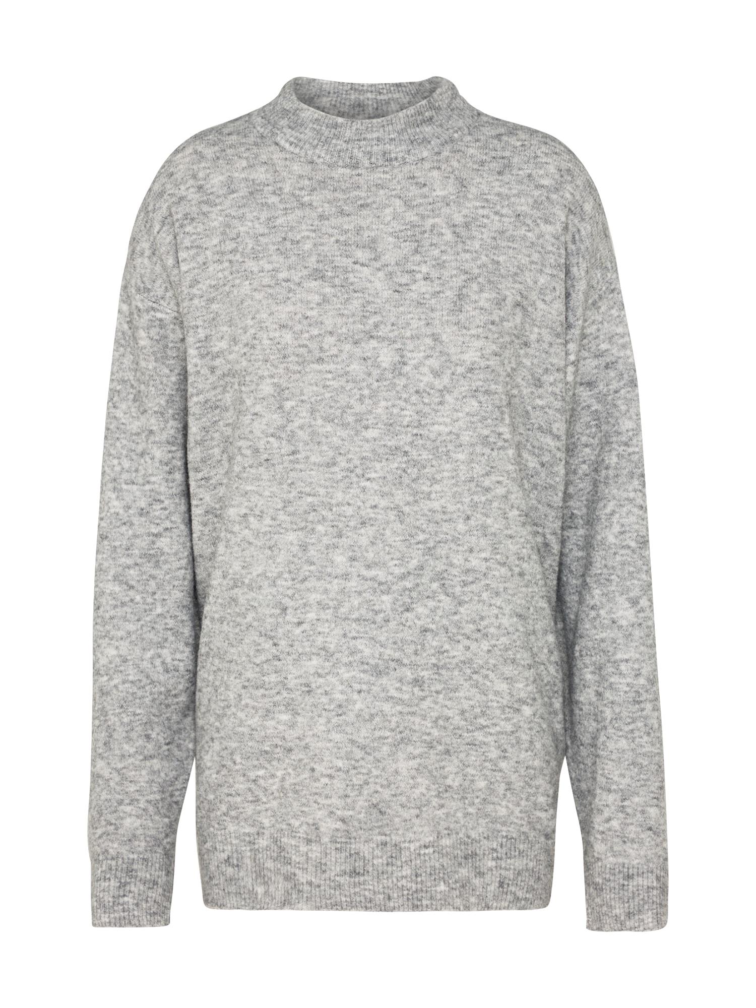 CHEAP MONDAY Dames Trui Bomb knit grijs