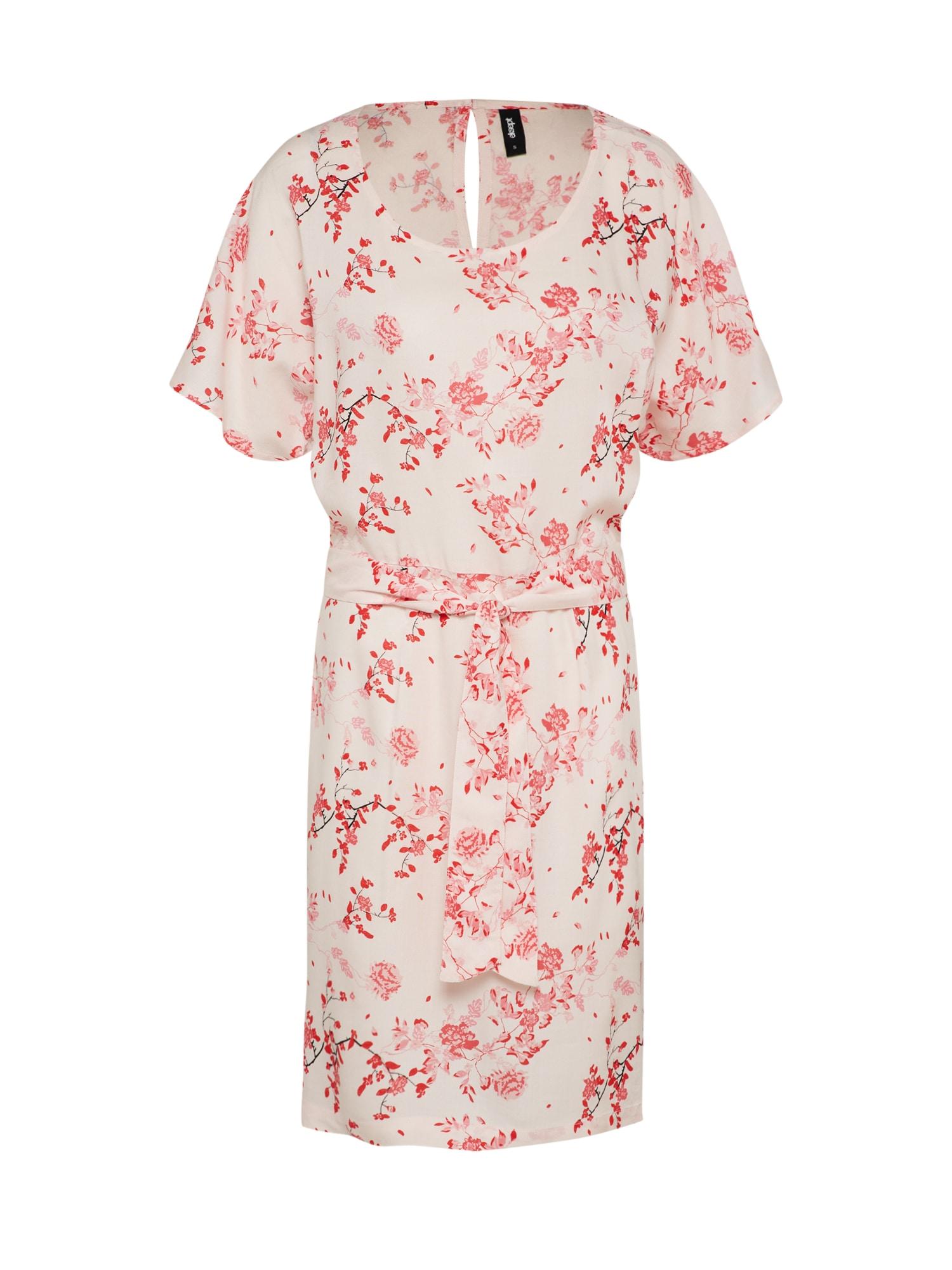 Letní šaty BUTTERFLY pink bílá Eksept