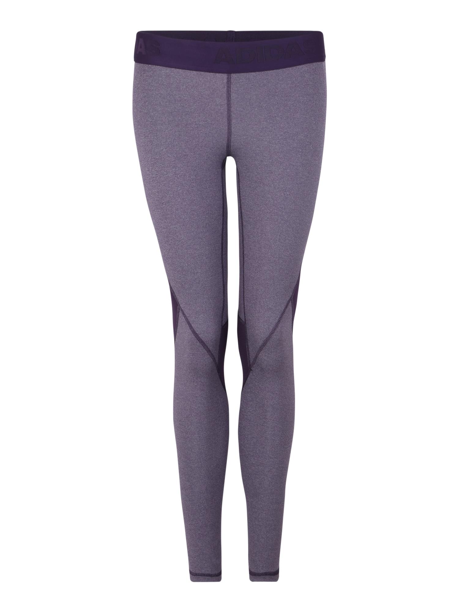 Sportovní kalhoty ASK SPR LT H tmavě šedá ADIDAS PERFORMANCE