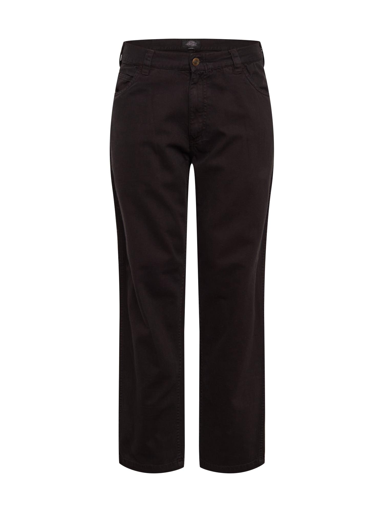 DICKIES Kalhoty  černá