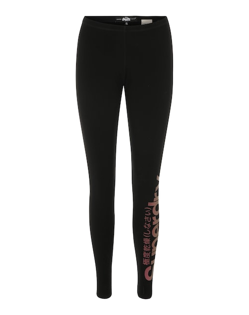 Leggings mit Glitzerprint