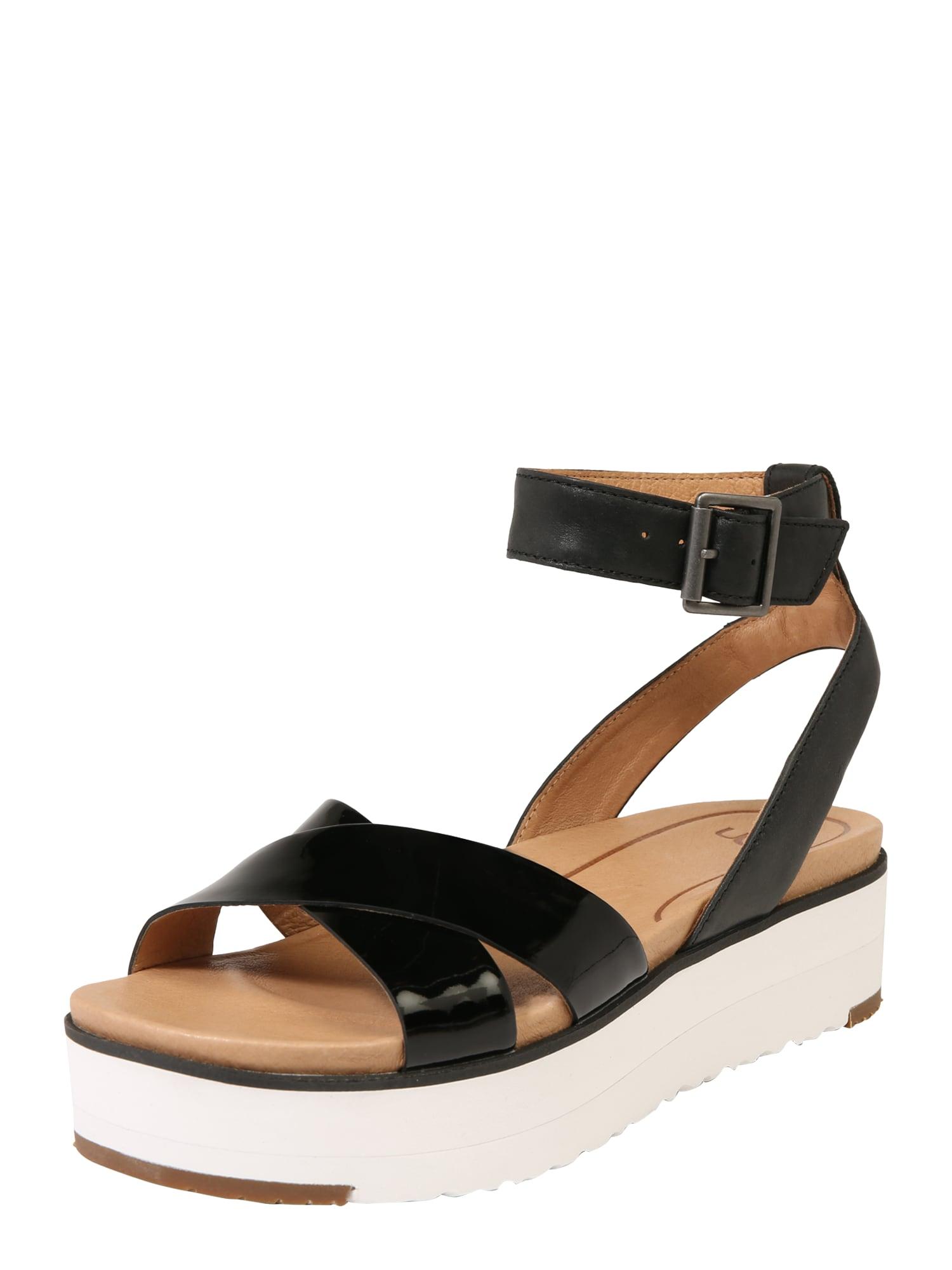 Páskové sandály Tipton černá UGG