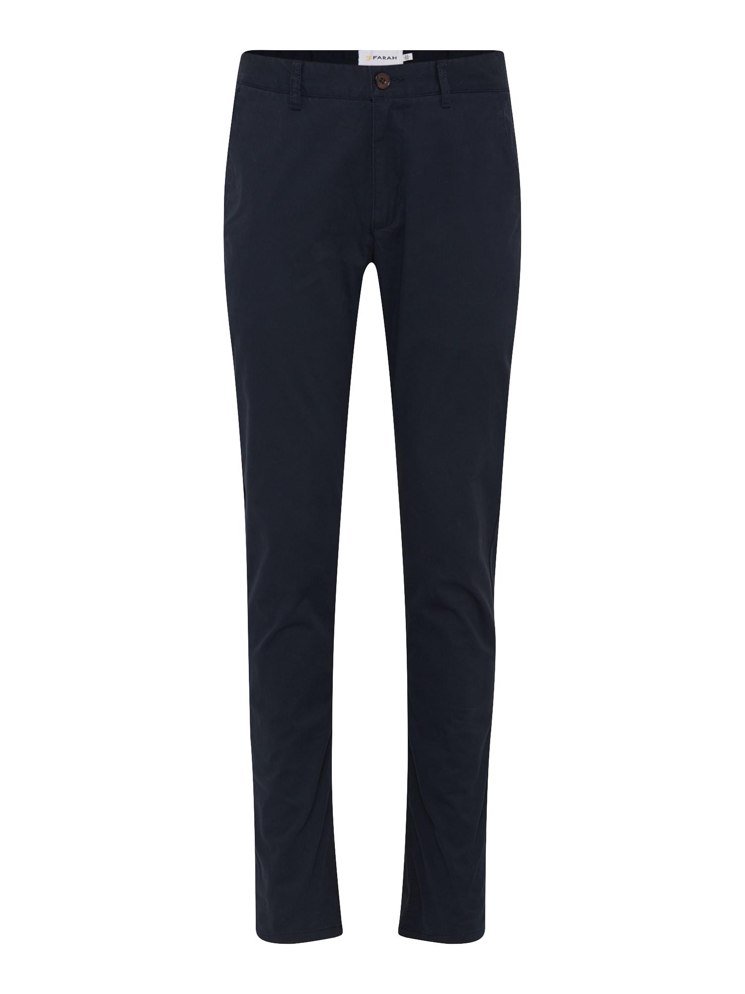 Chino kalhoty ELM námořnická modř FARAH