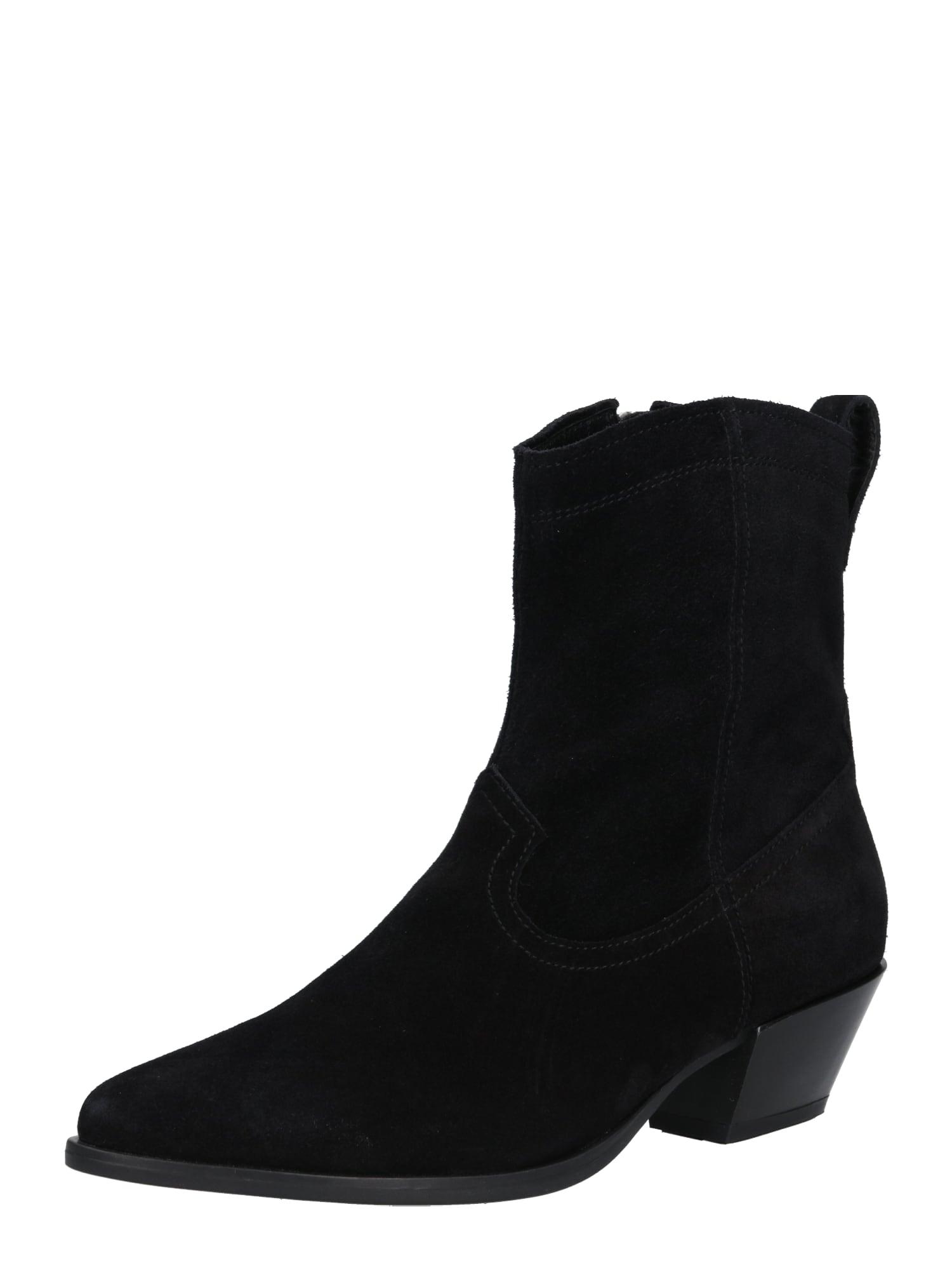 Kovbojské boty Emily černá VAGABOND SHOEMAKERS