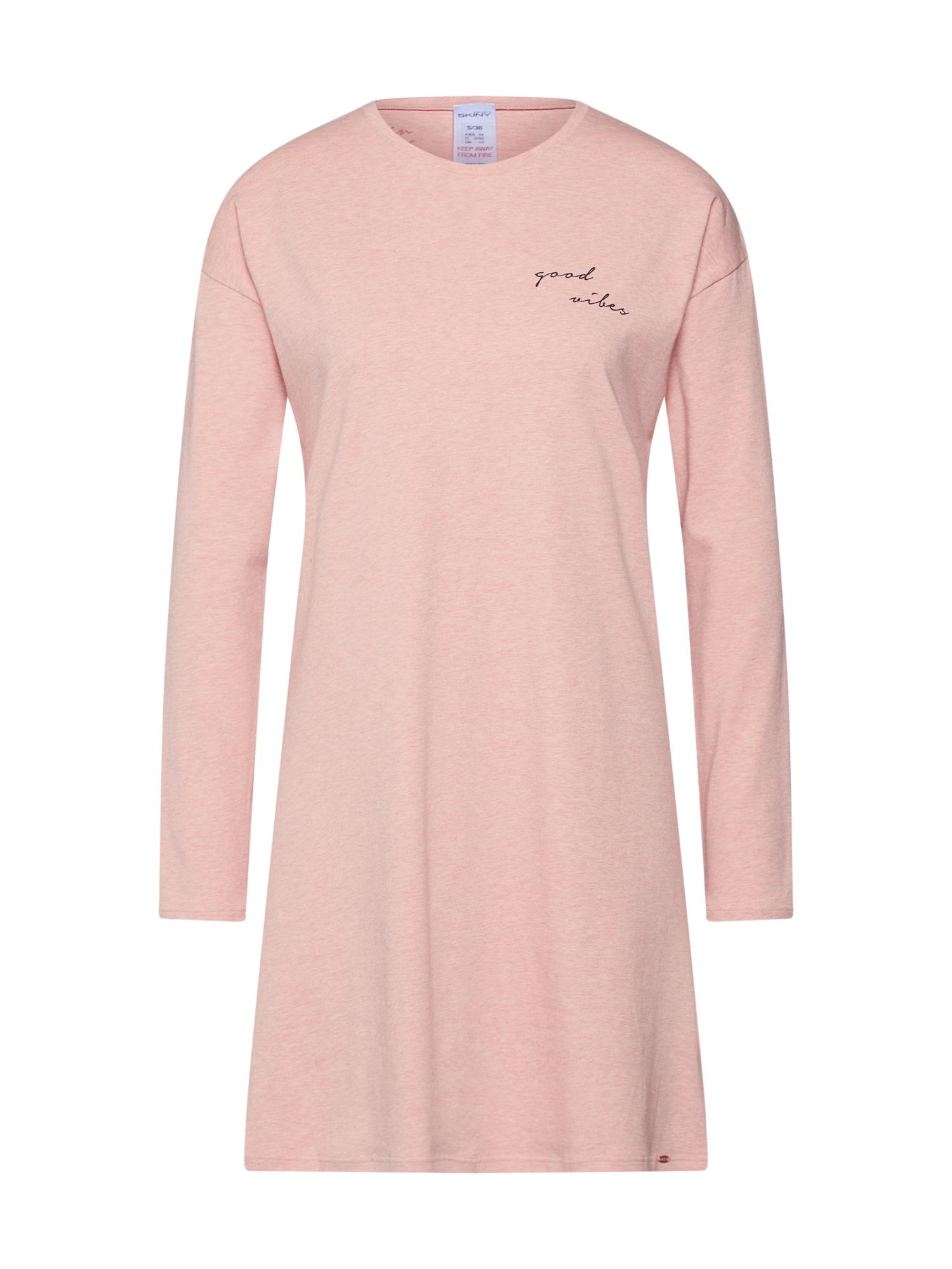 Skiny Koszula nocna  różowy pudrowy