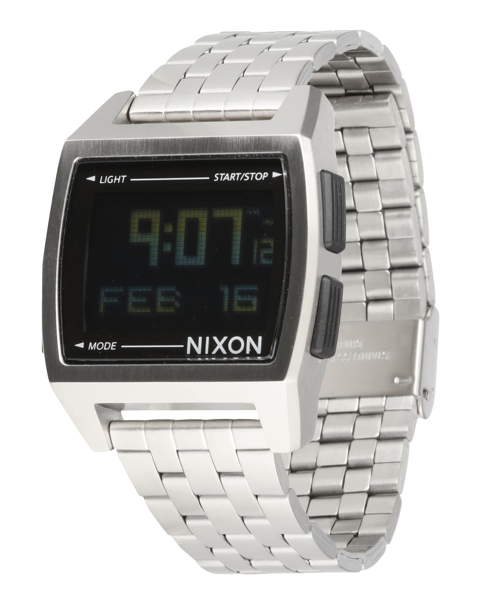 Digitální hodinky Base stříbrná Nixon