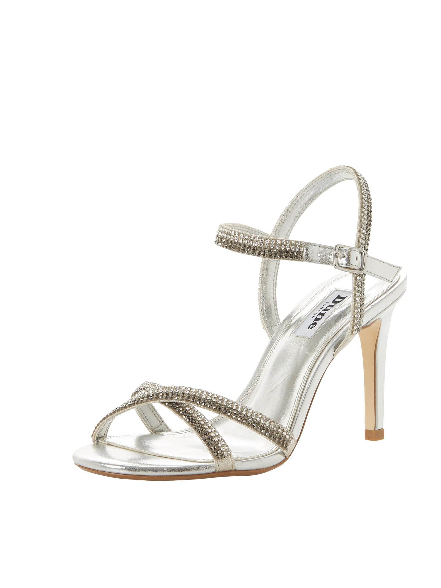 Páskové sandály MAGDALENA stříbrná Dune LONDON