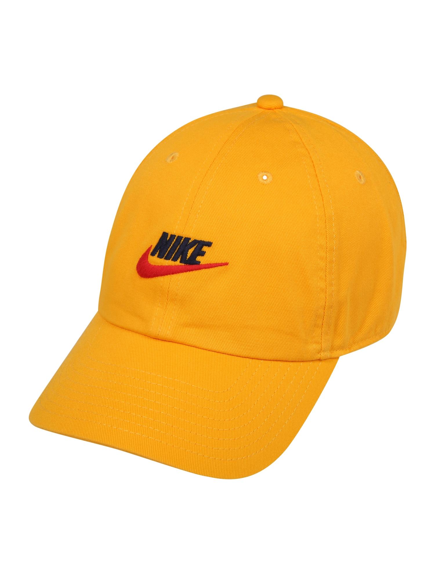 Nike Sportswear Čiapka 'Heritage86'  zlatá