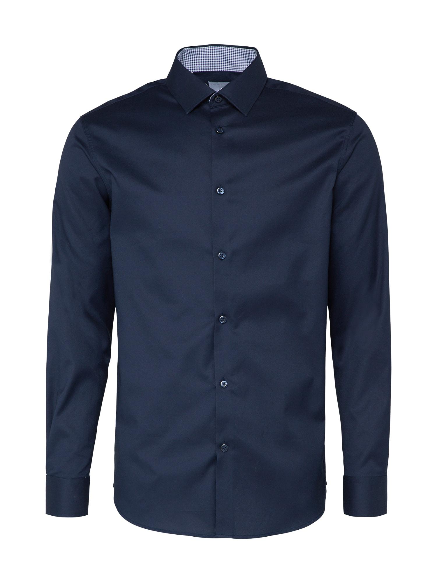 Košile SHDONENEW-MARK námořnická modř SELECTED HOMME