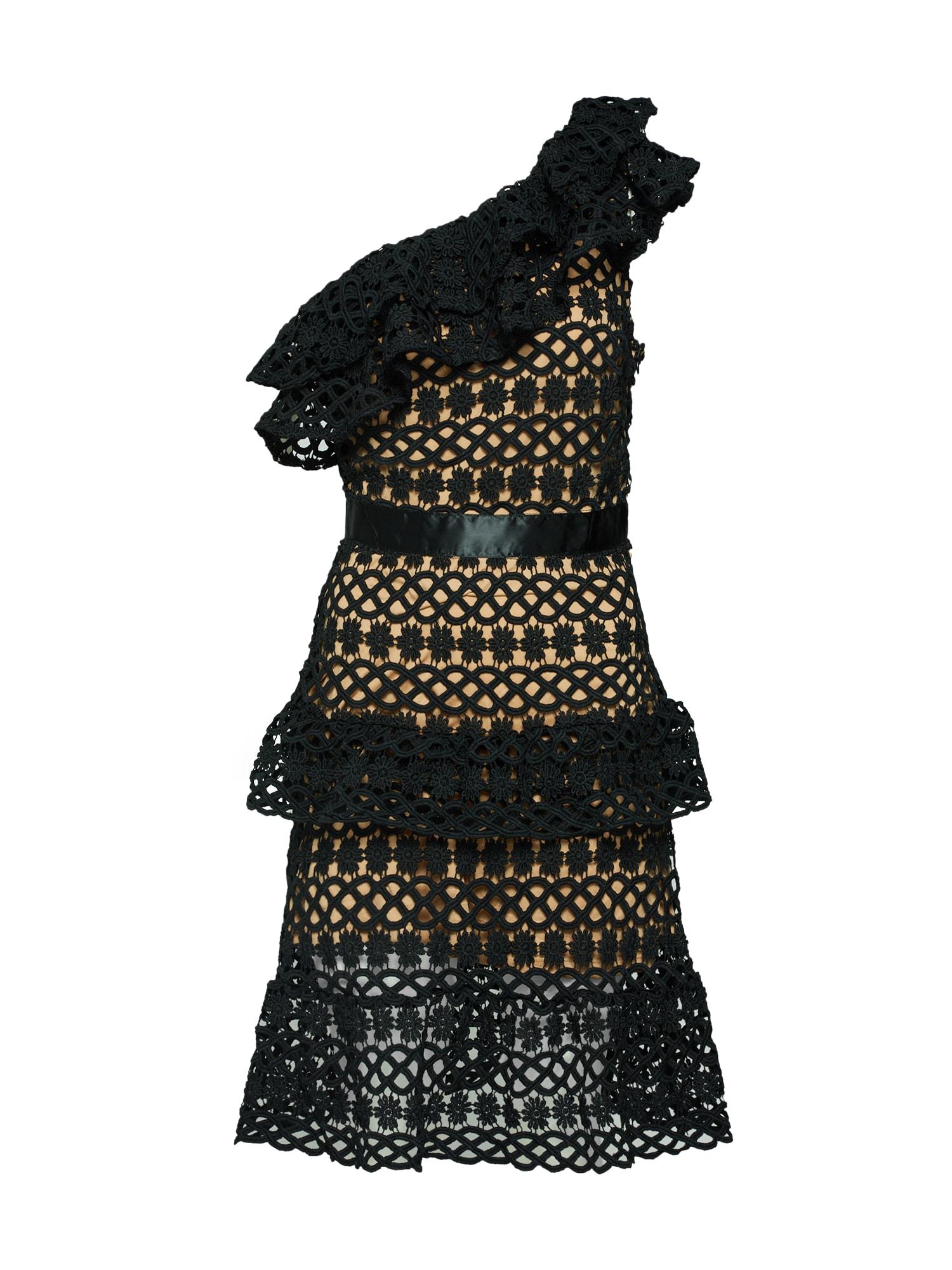 VILA Sukienka koktajlowa  czarny