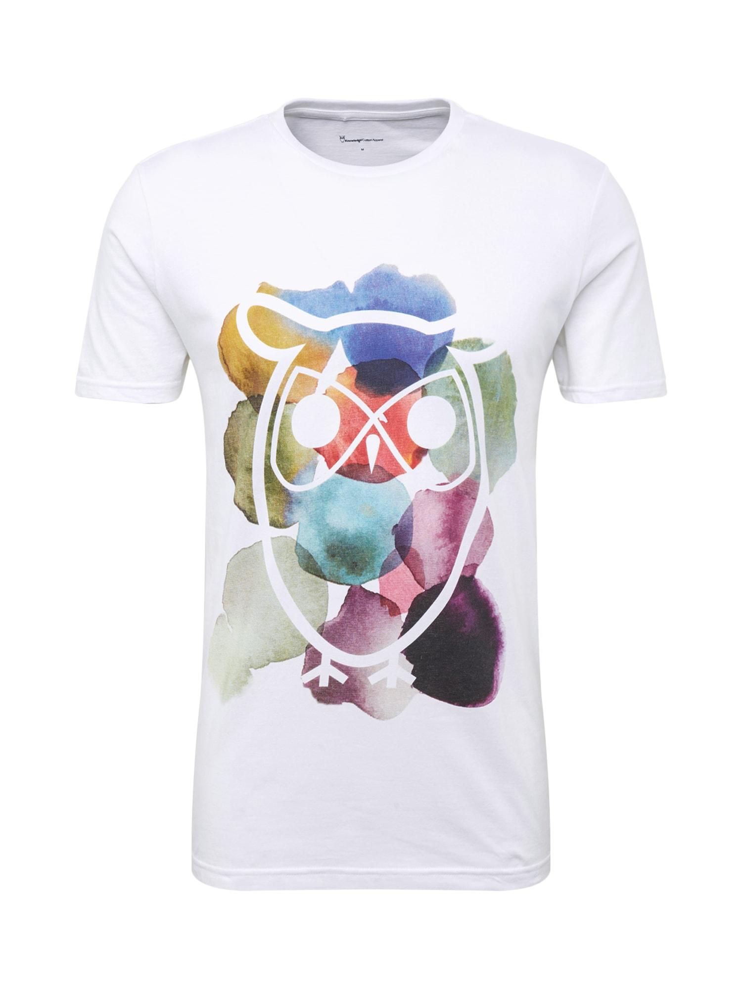 Tričko mix barev bílá KnowledgeCotton Apparel