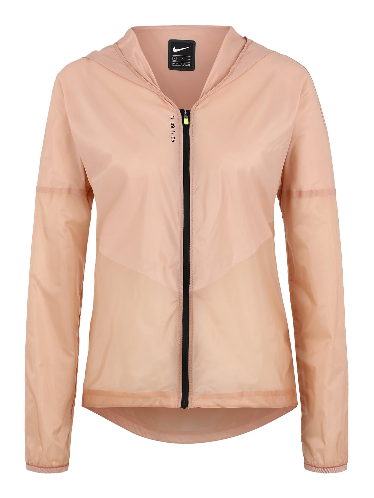 Sportovní bunda růžová NIKE