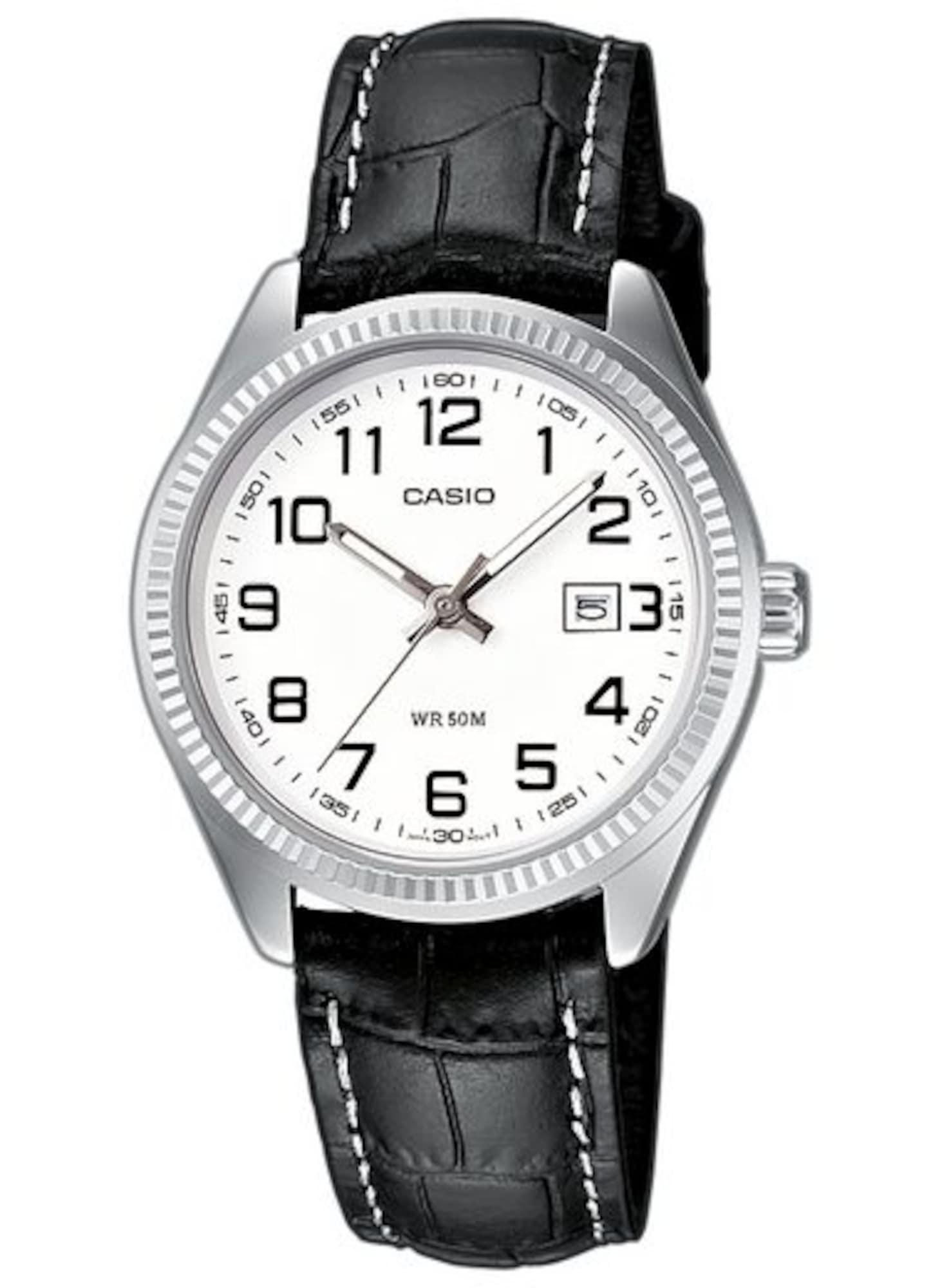 Armbanduhr | Uhren > Sonstige Armbanduhren | Schwarz - Silber - Weiß | Casio