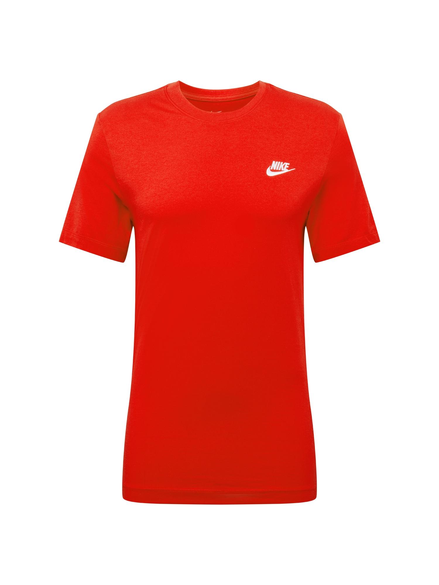 Nike Sportswear Tričko 'CLUB TEE'  červené