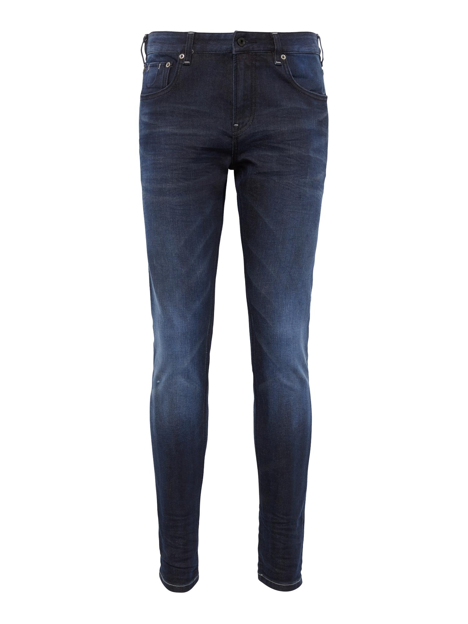SCOTCH  and  SODA Heren Jeans Skim Blauw Me Away donkerblauw