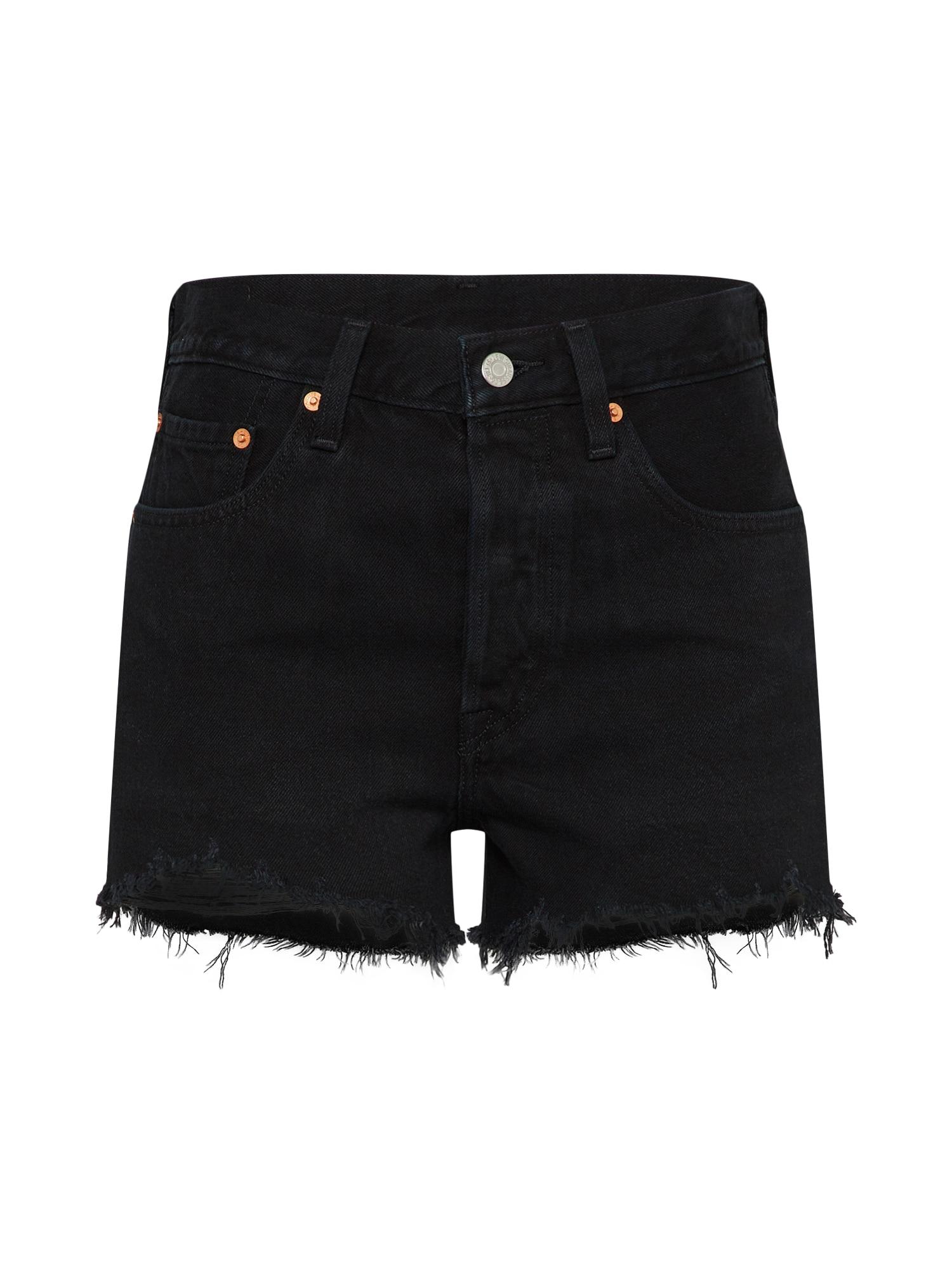 LEVI'S Dames Jeans 501® HIGH RISE zwart