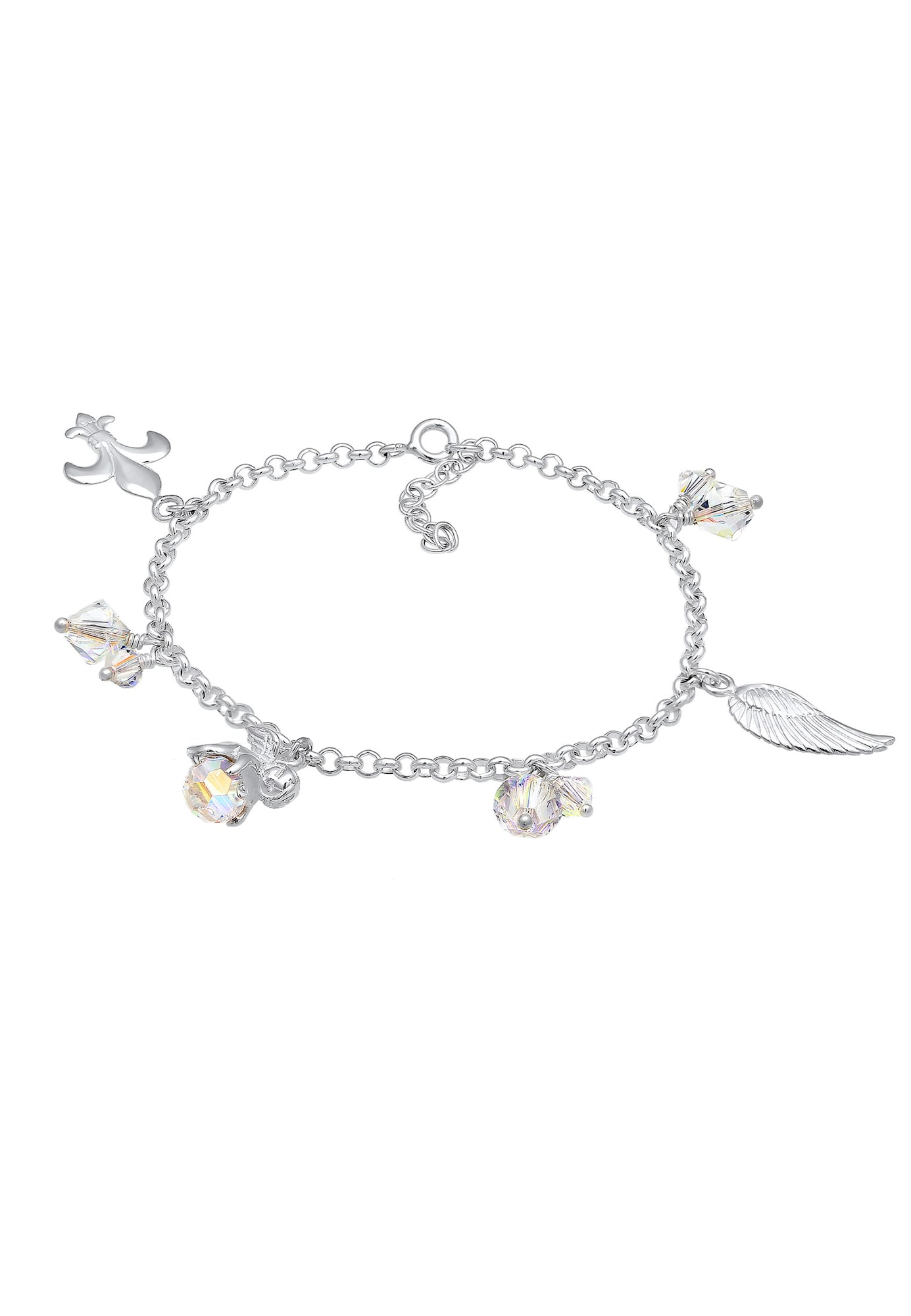 Bettelarmband 'Engel, Flügel'   Schmuck > Armbänder > Bettelarmbänder   Silber   Nenalina