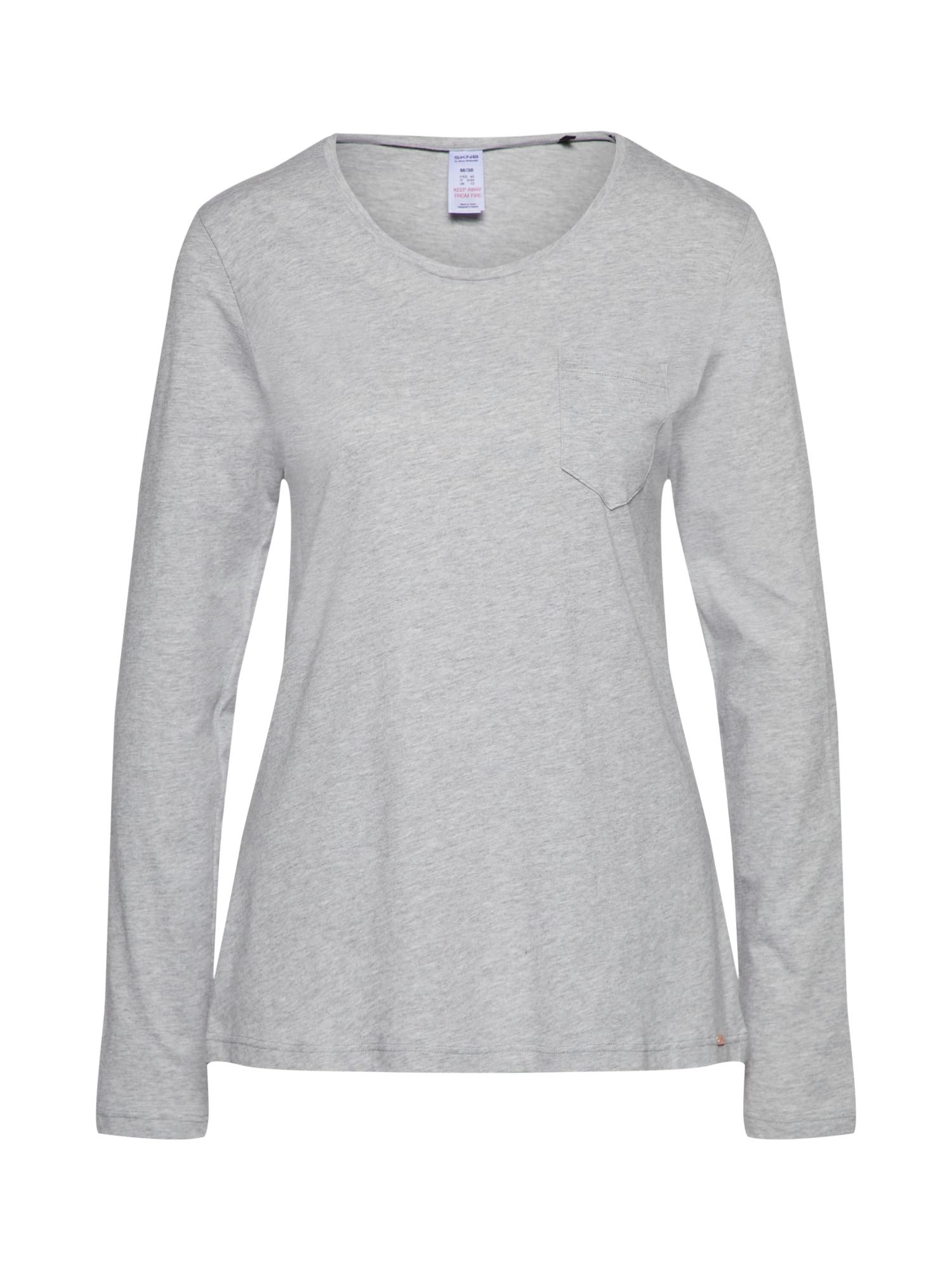 Tričko na spaní šedá Skiny