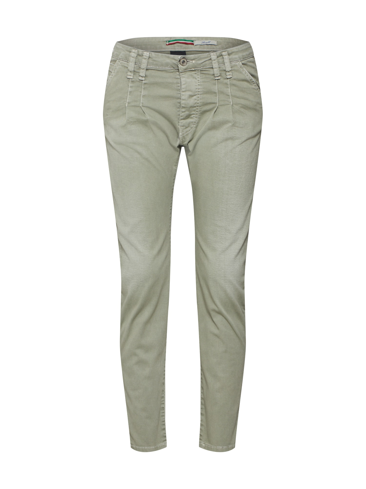 Kalhoty trousers světle zelená PLEASE