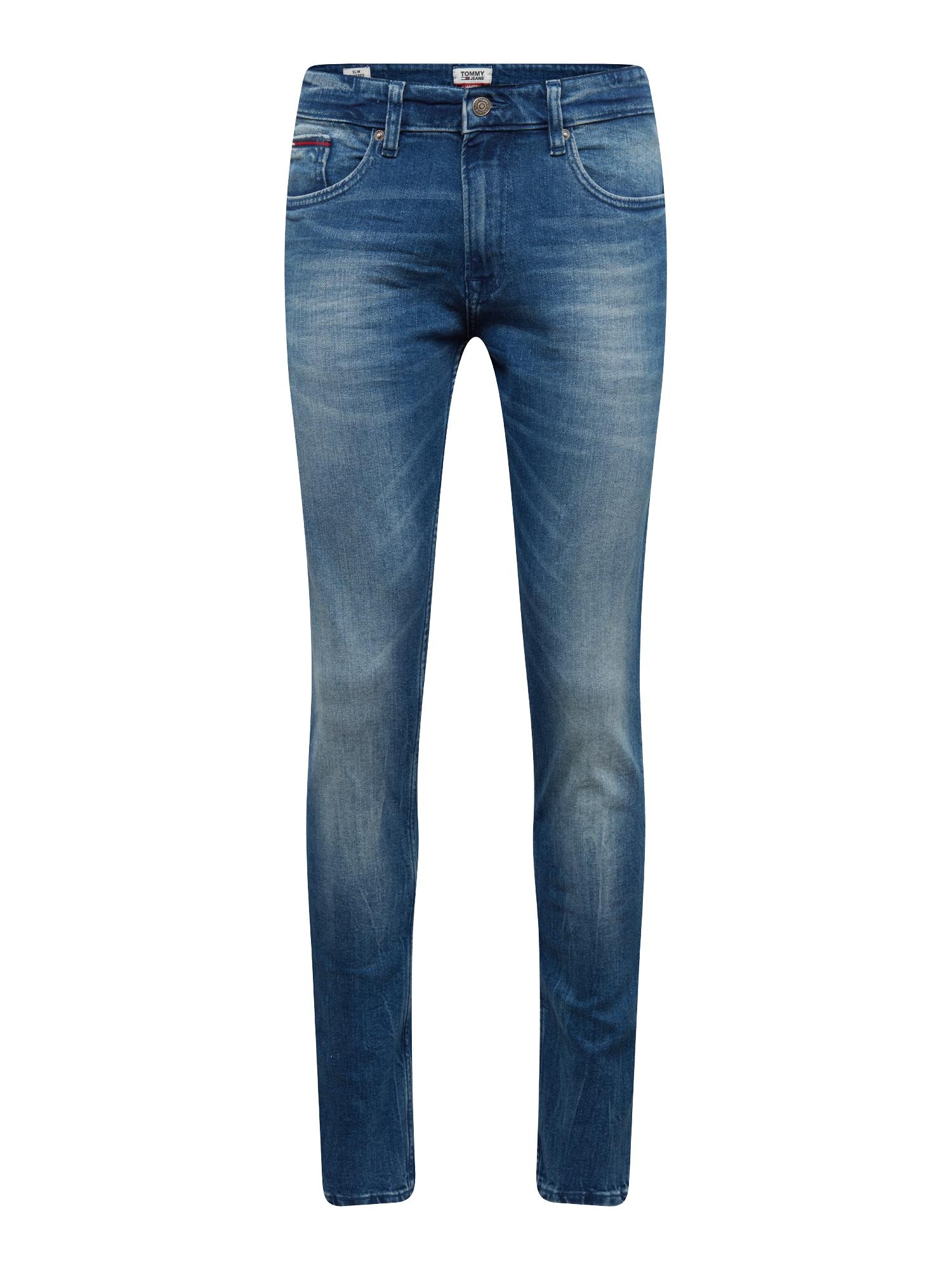 Džíny Slim Tapered Steve BEMB modrá džínovina Tommy Jeans