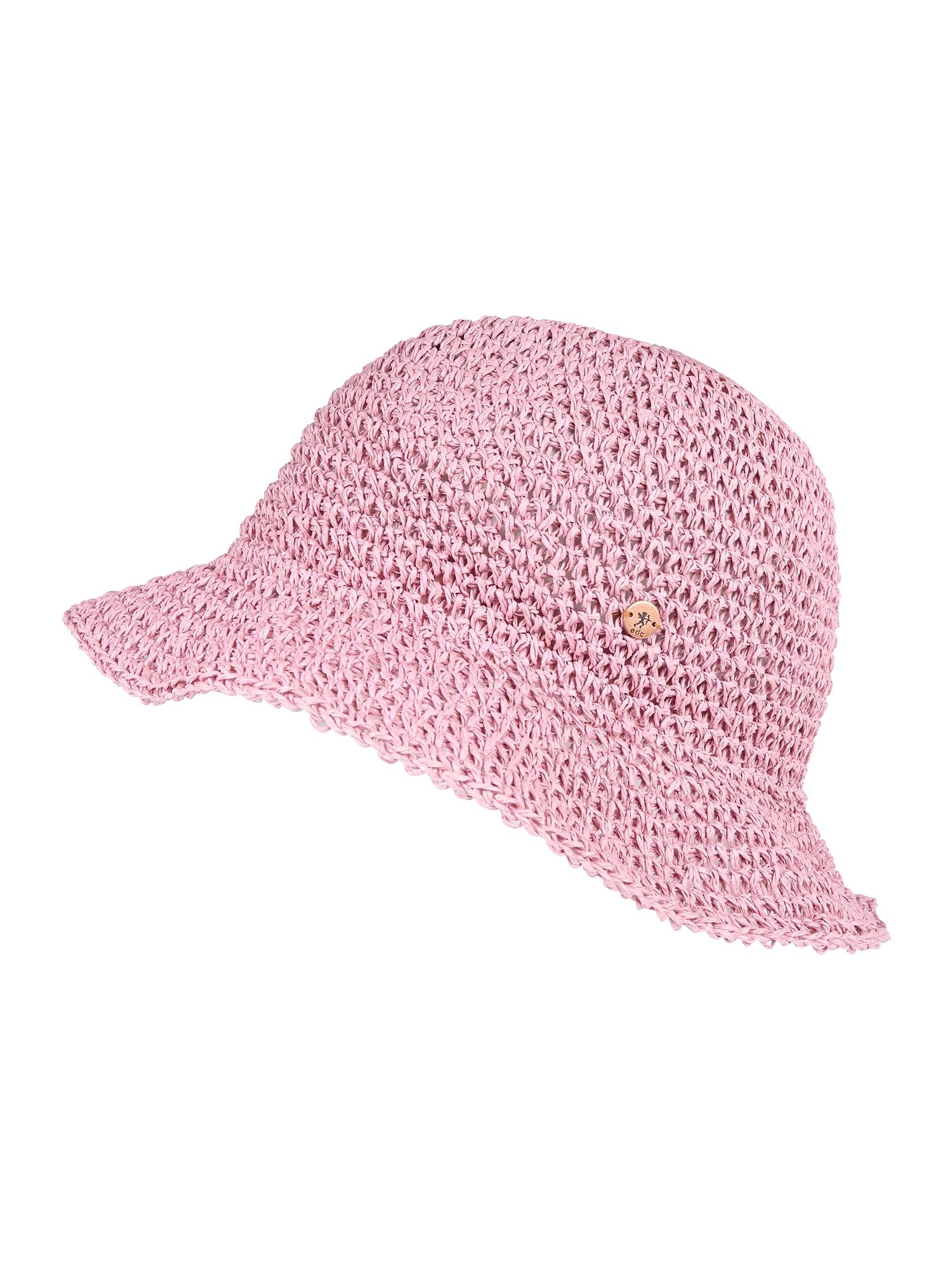 Klobouk SolidCrochetTri růžová ESPRIT