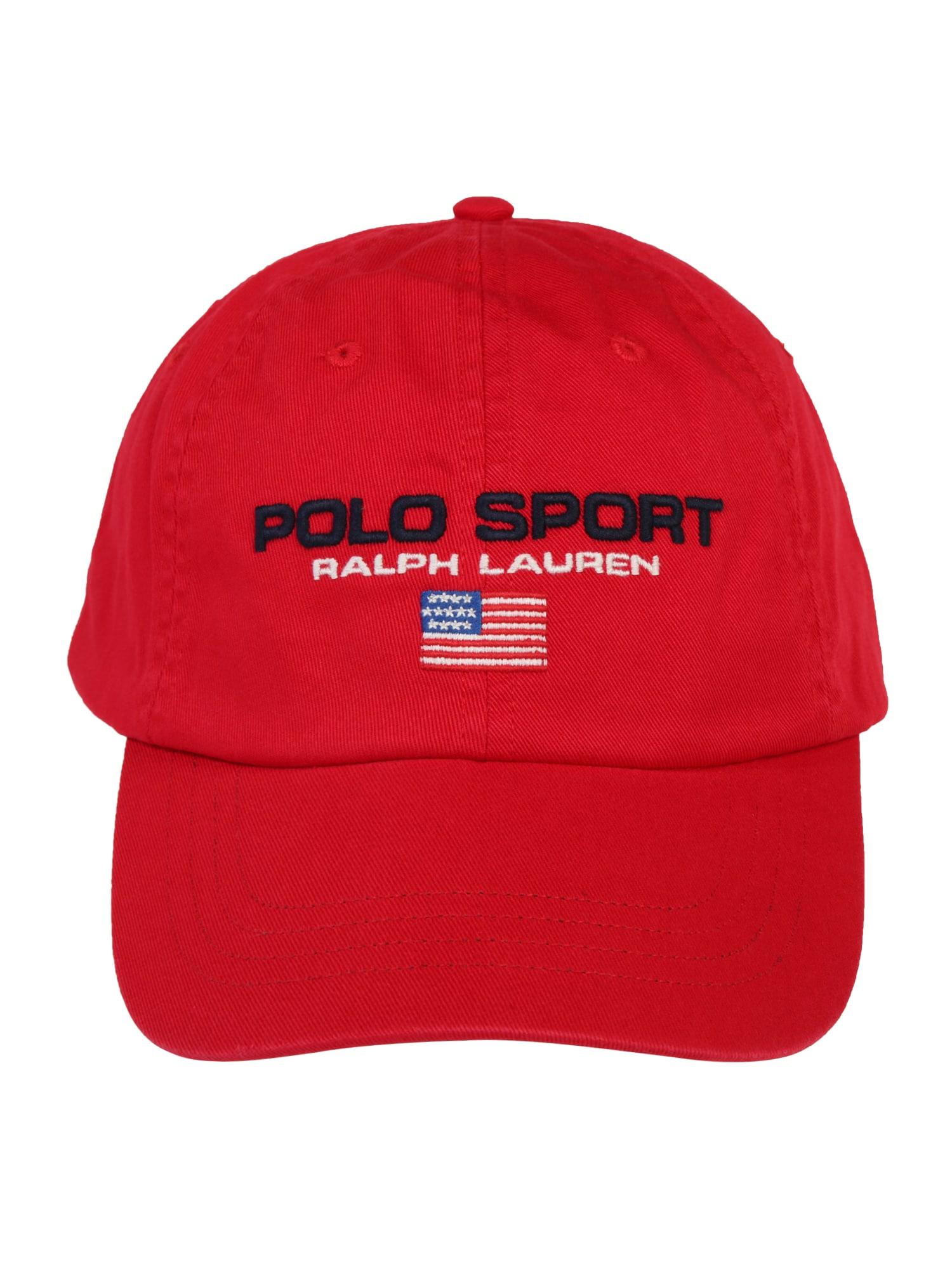 Kšiltovka CLASSIC SPORT CAP zelená červená POLO RALPH LAUREN