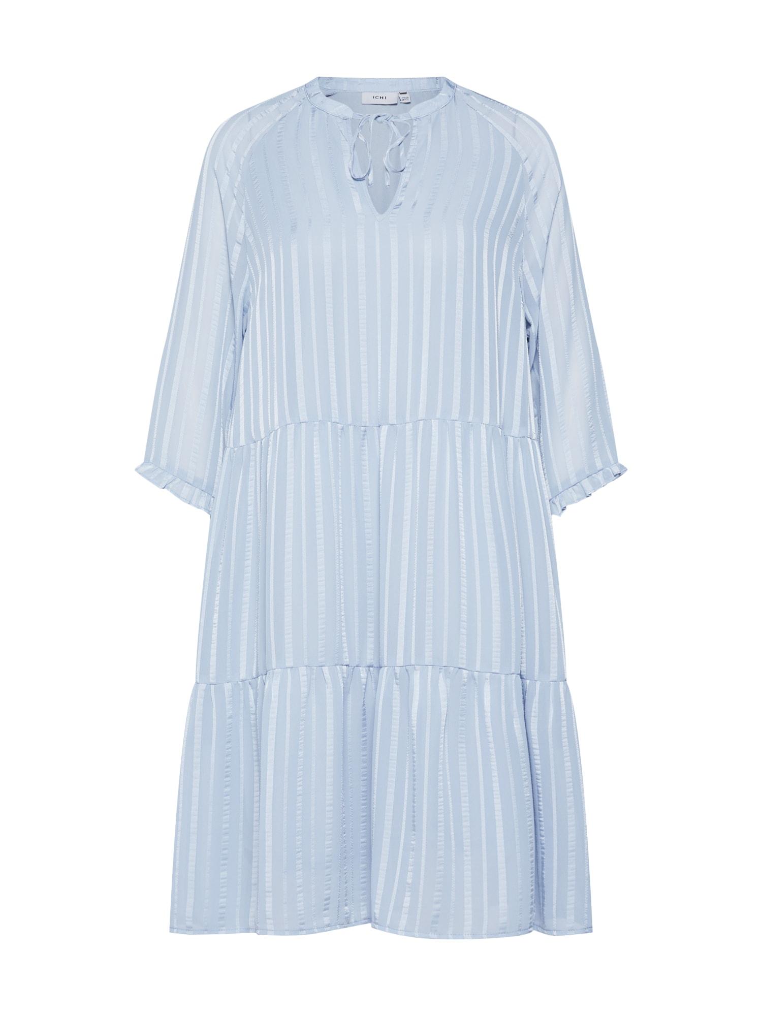 Letní šaty DONNA DR2 světlemodrá ICHI
