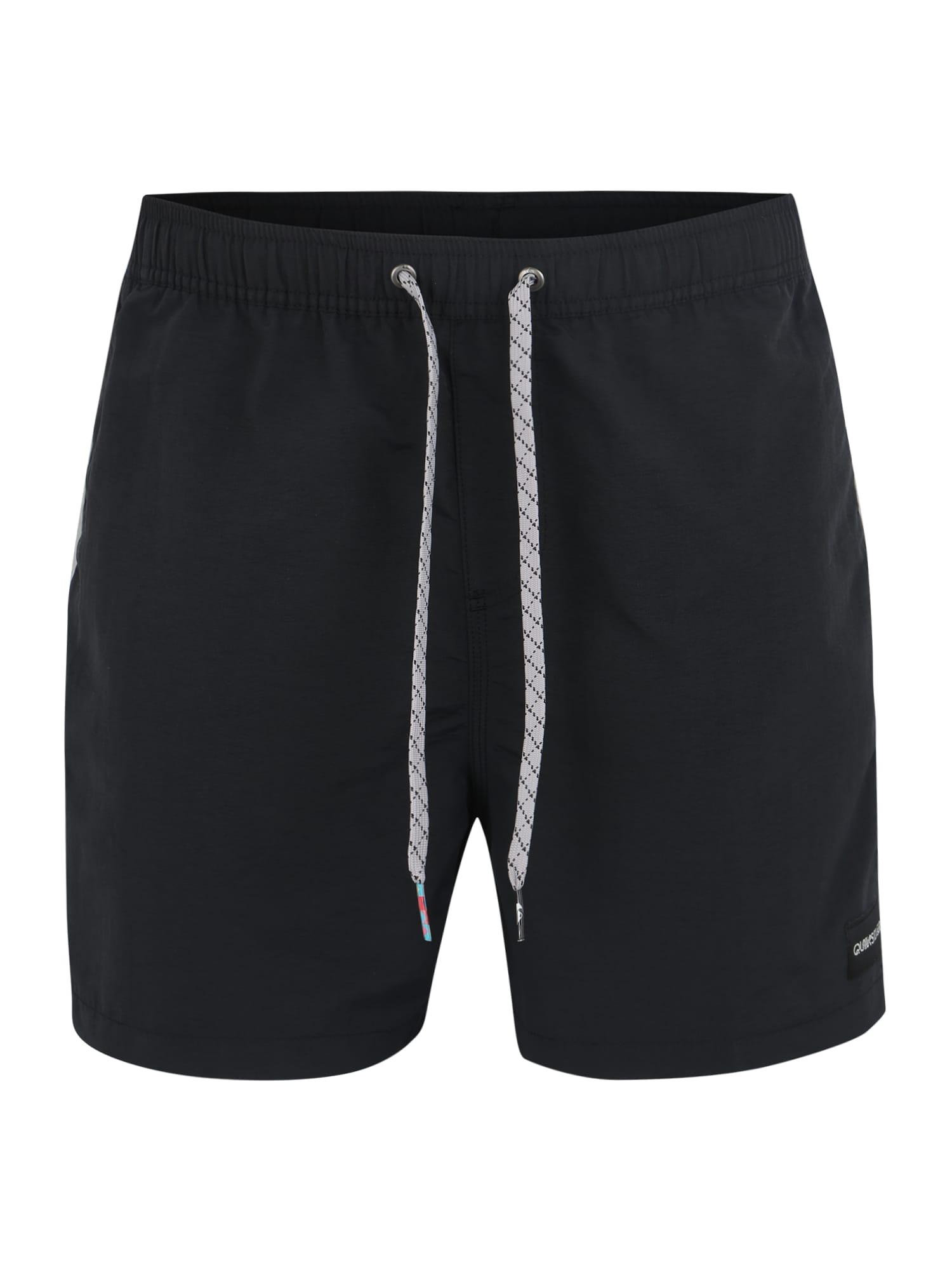 Plavecké šortky VIBES VOLLEY 16 černá QUIKSILVER