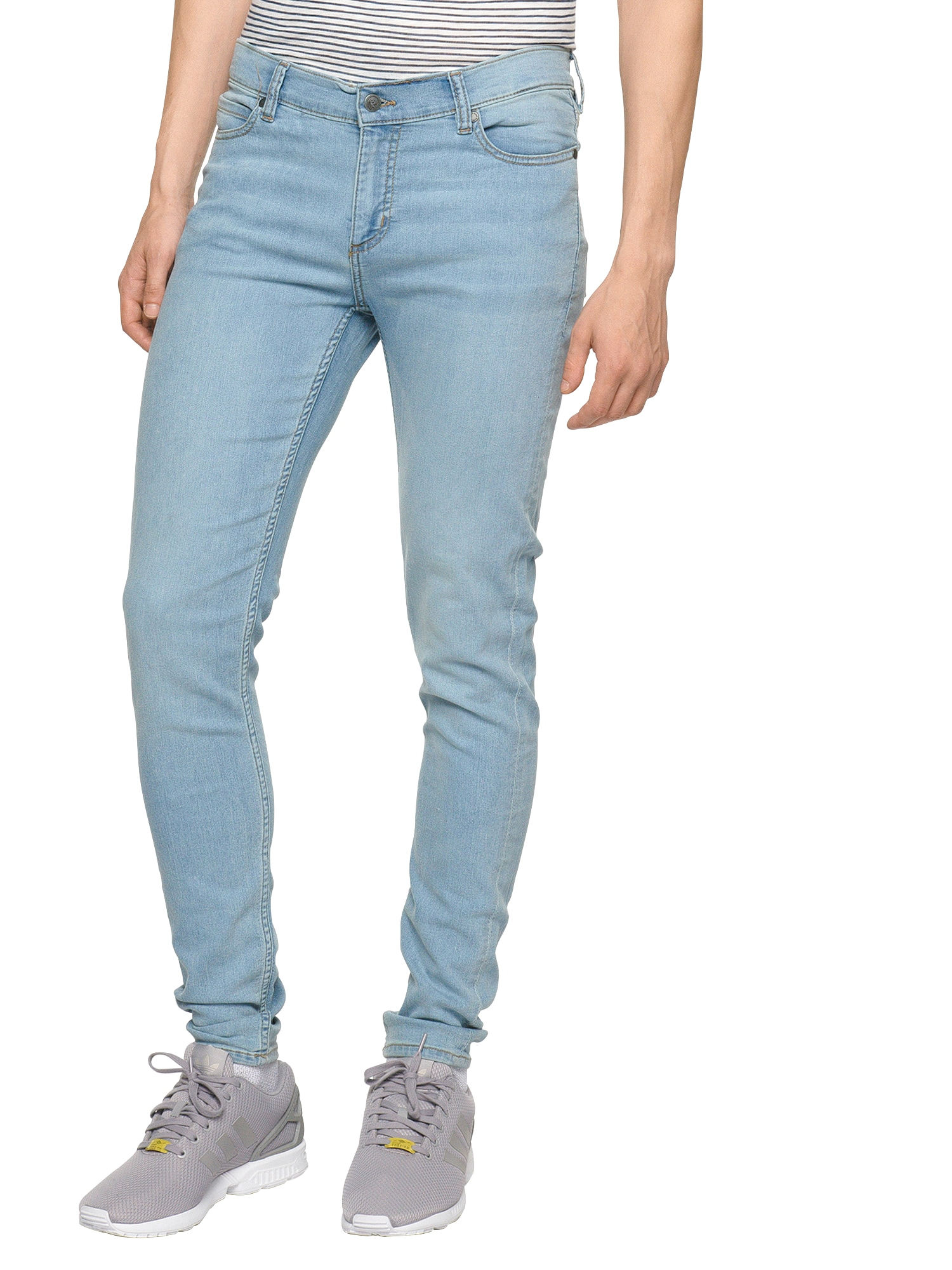 CHEAP MONDAY Heren Jeans lichtblauw