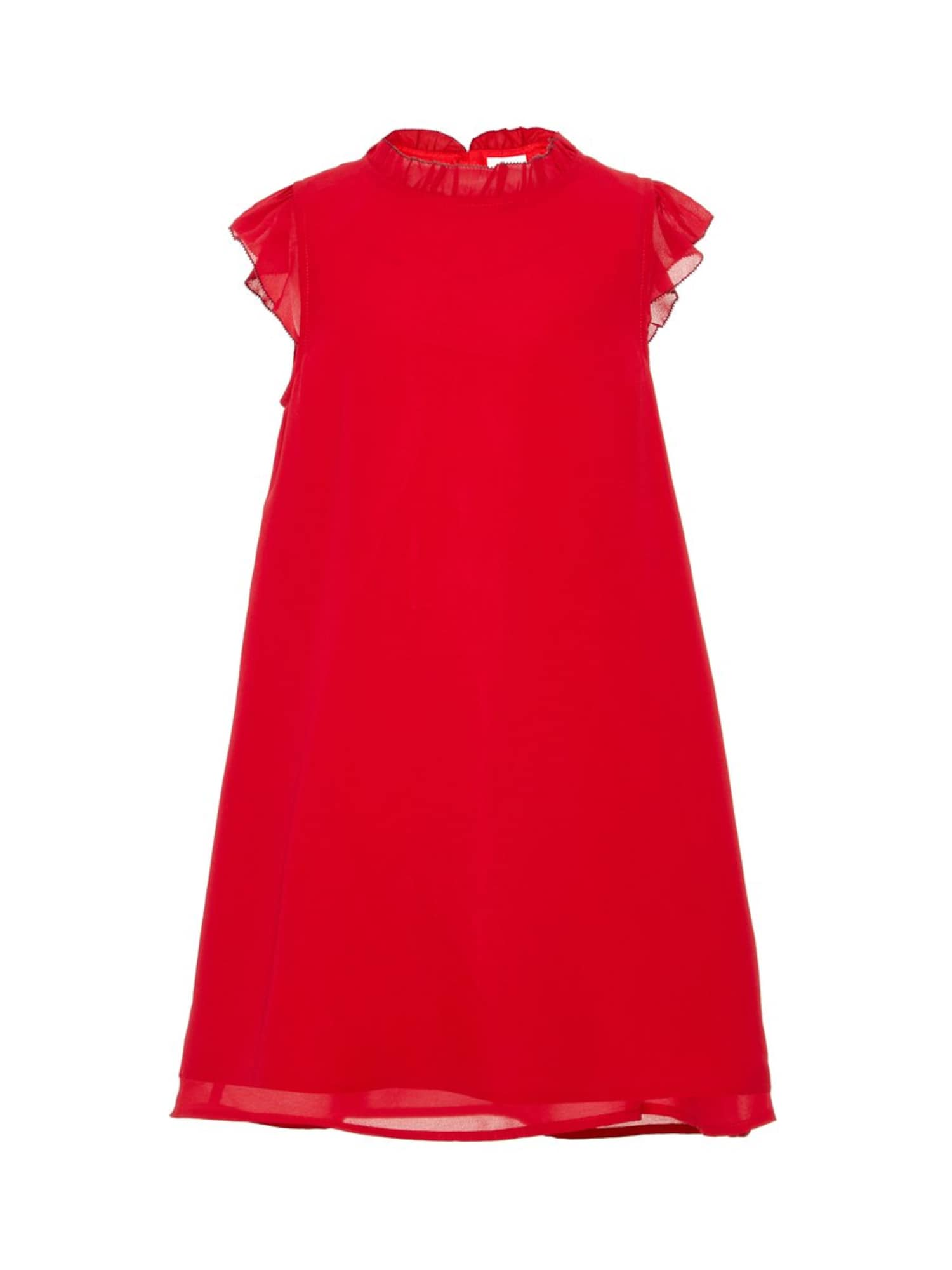 Name it Meisjes Jurk 'NKFSIBBY SS DRESS CAMP' rood