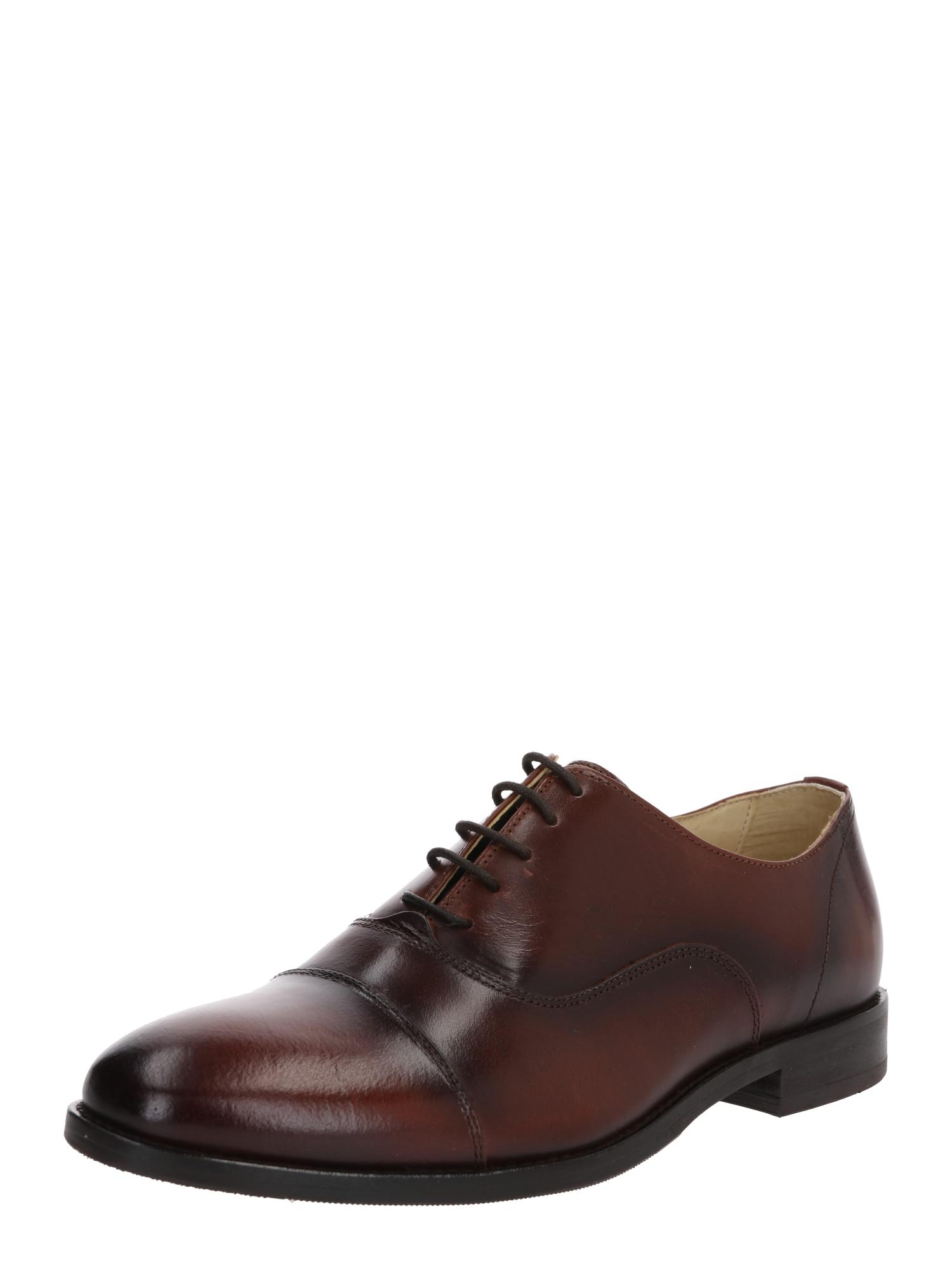 Shoe The Bear Šněrovací boty 'HARRY L'  tmavě hnědá