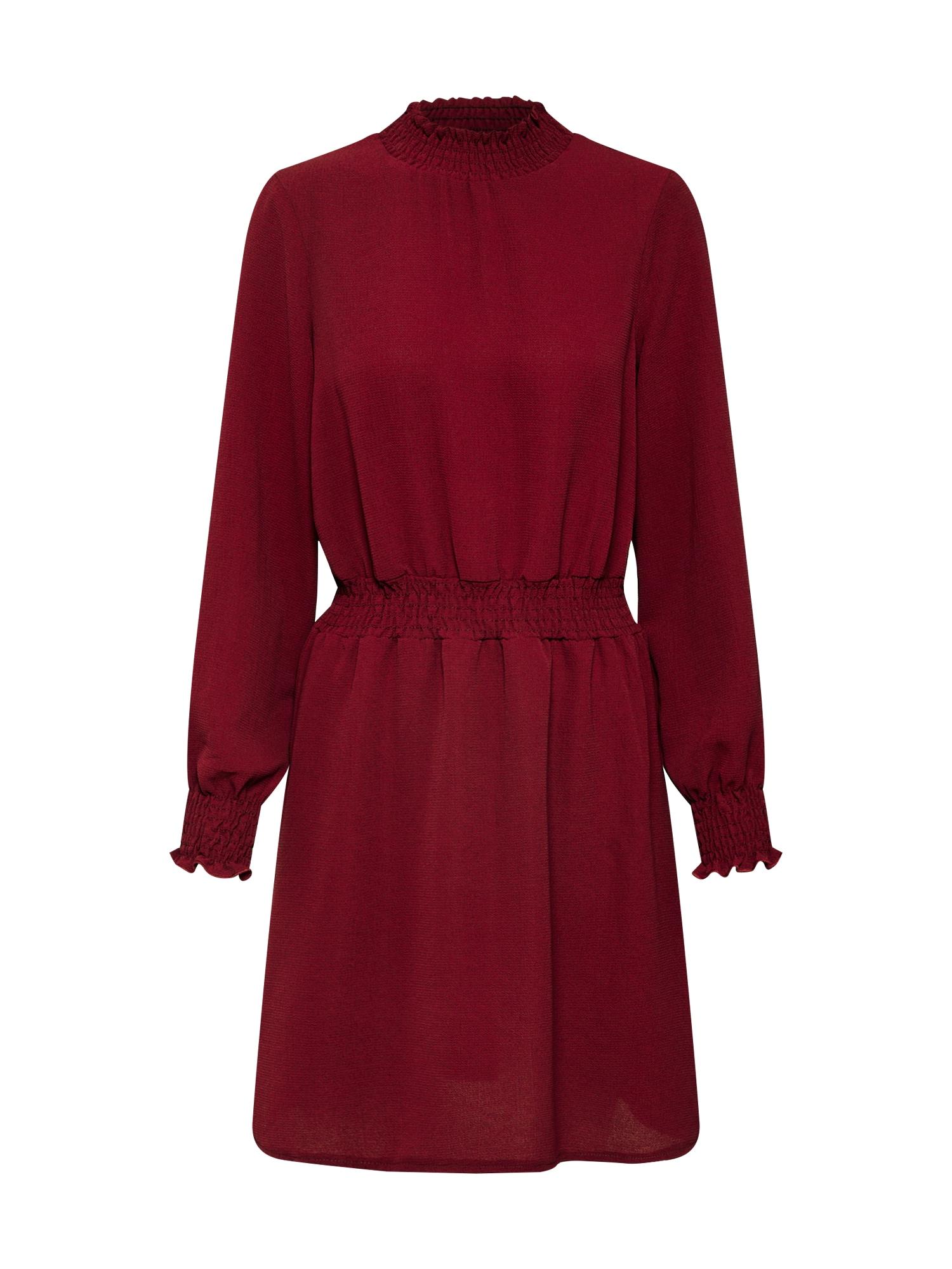 NEW LOOK Koktejlové šaty  burgundská červeň