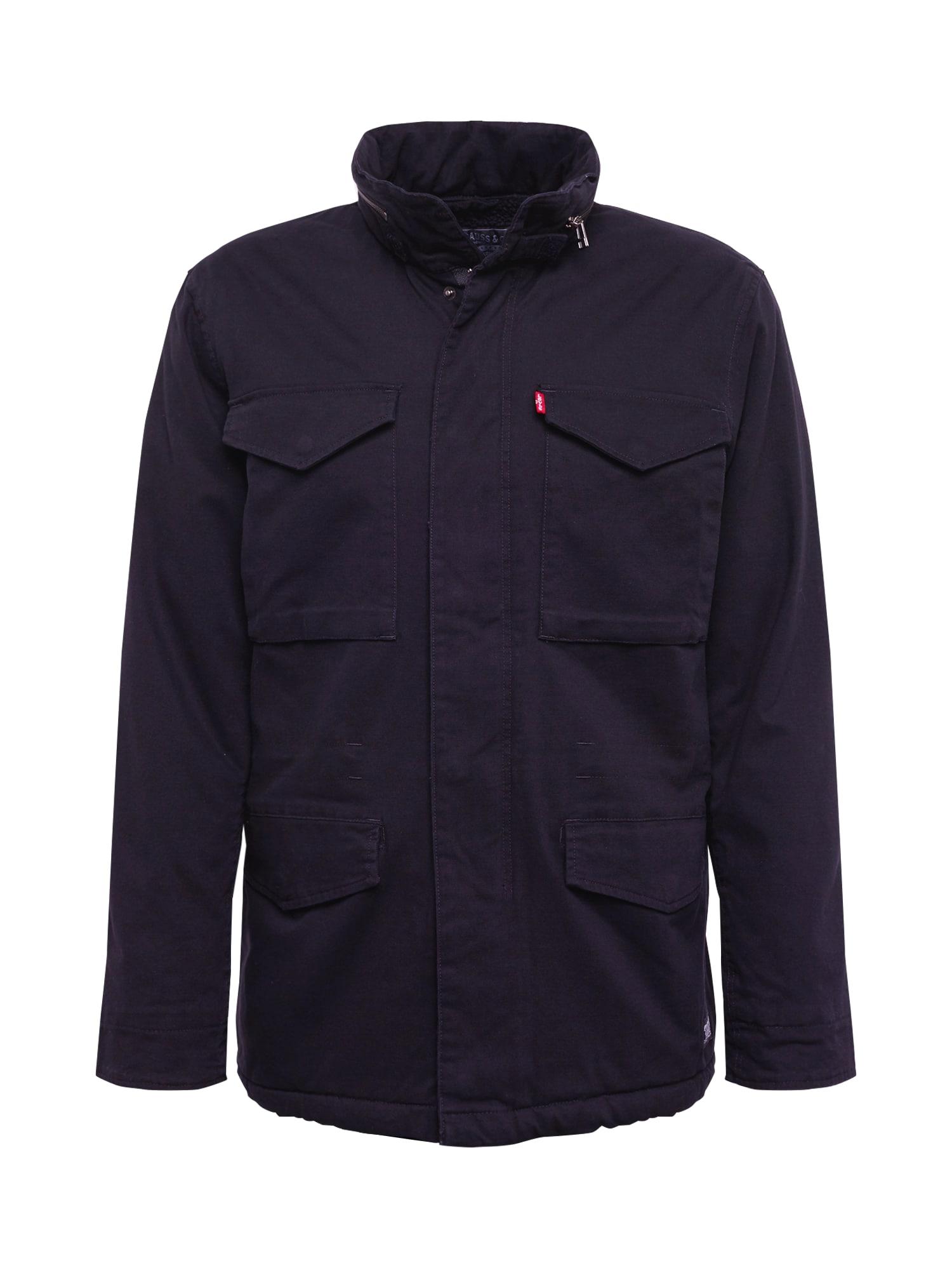 LEVI'S Prechodná bunda čierna