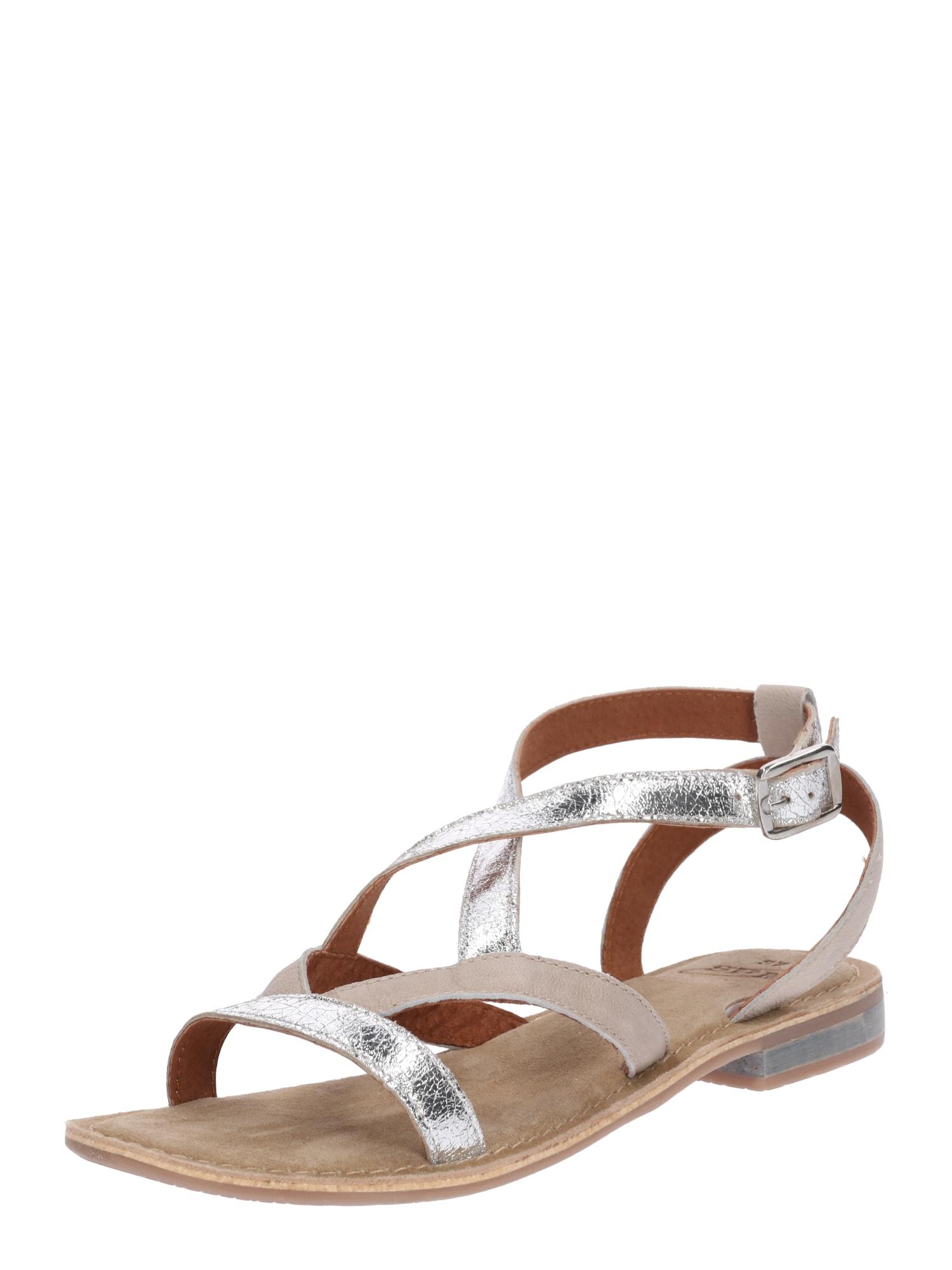 Sandály Dazzle stříbrná SPM