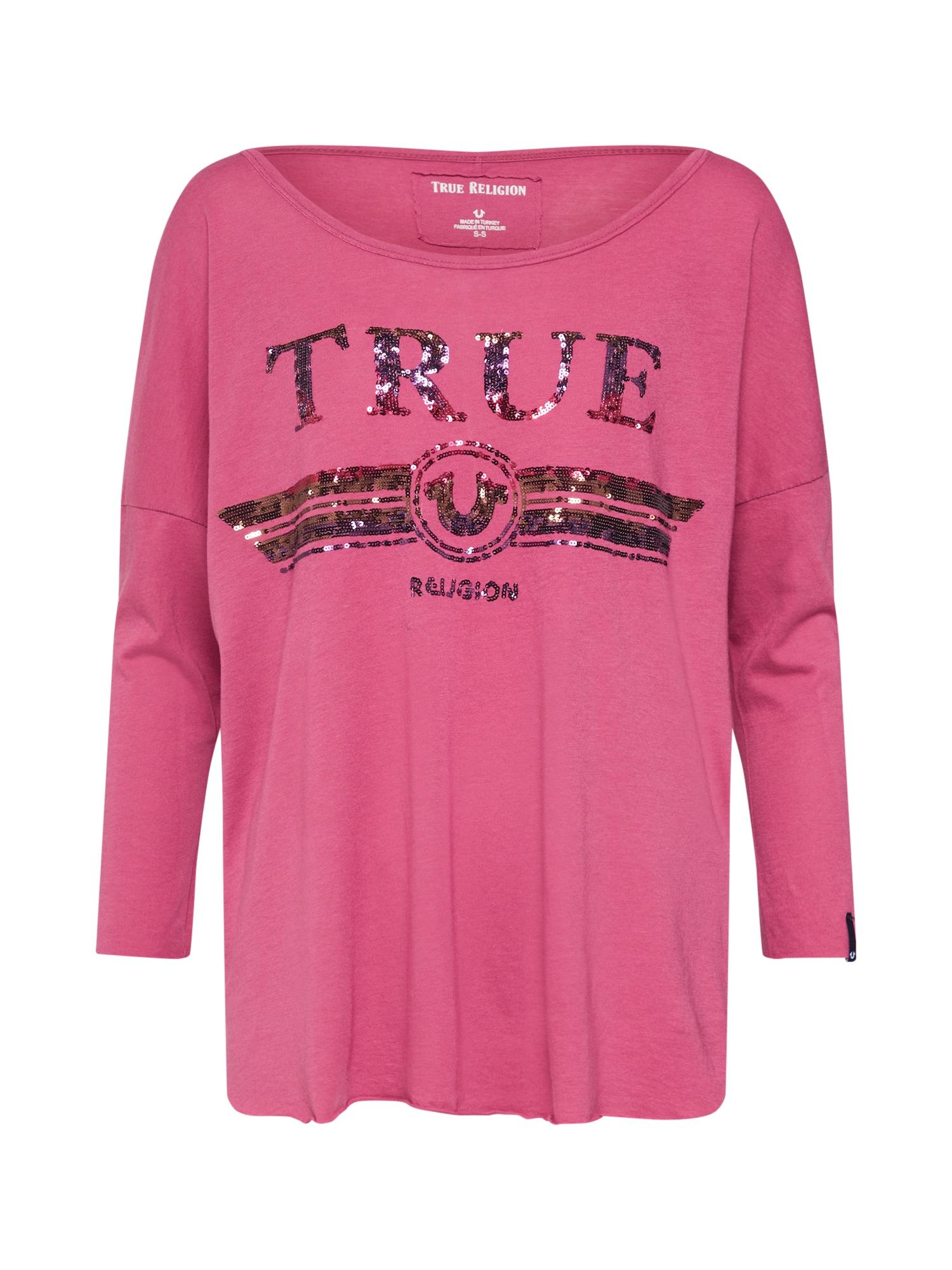 Tričko LS TRUCCI pink True Religion