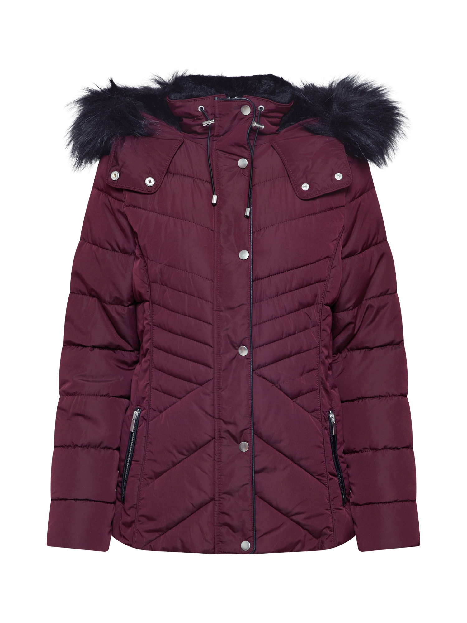 NEW LOOK Zimní bunda  burgundská červeň