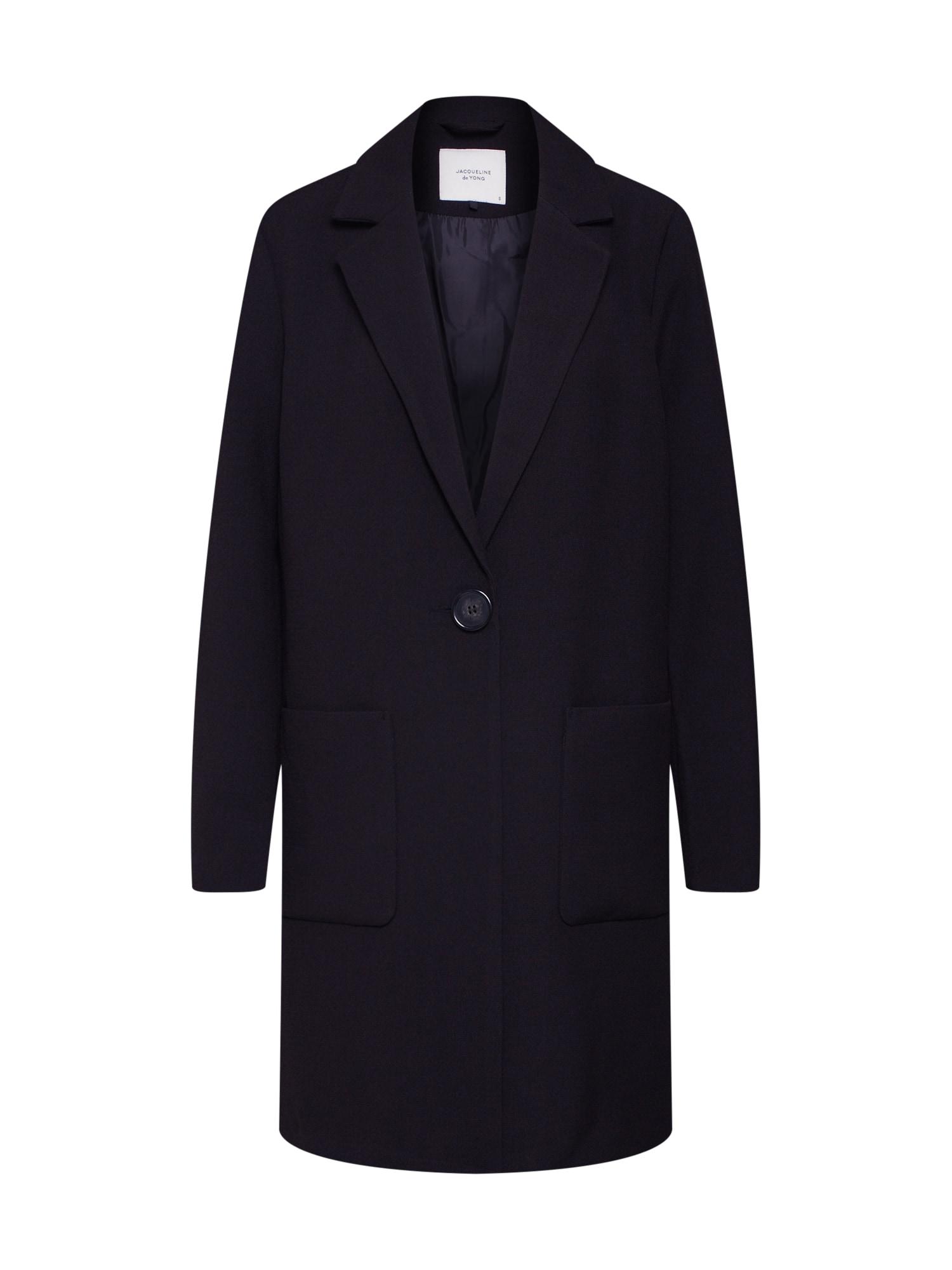 Přechodný kabát KAYA BRIGHTON černá JACQUELINE De YONG