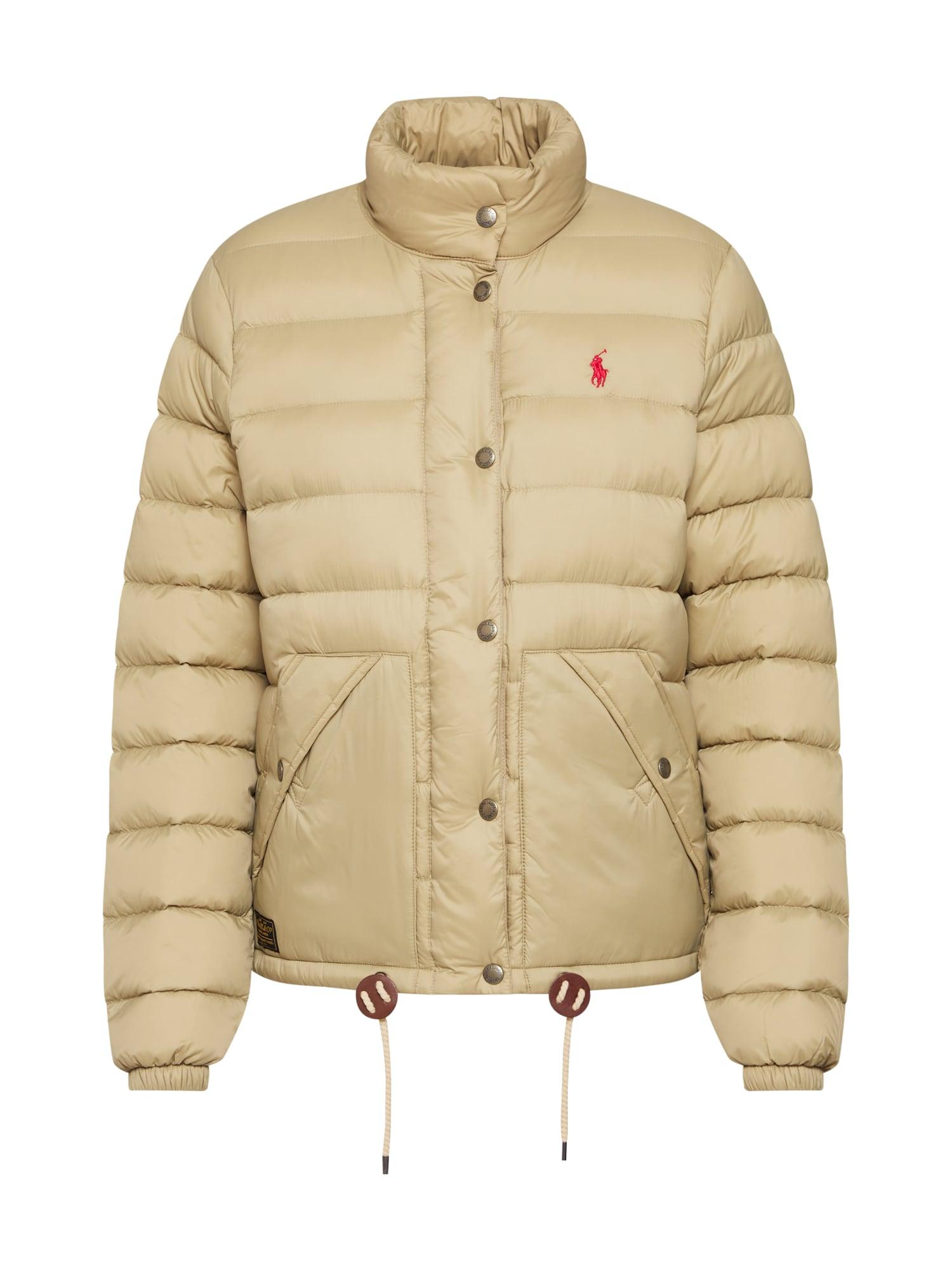 Zimní bunda béžová POLO RALPH LAUREN