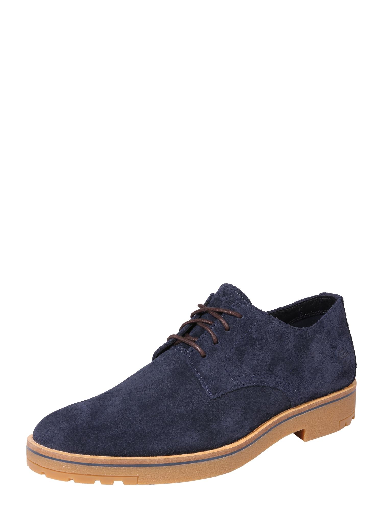 Šněrovací boty Folk Gentleman Ox noční modrá TIMBERLAND