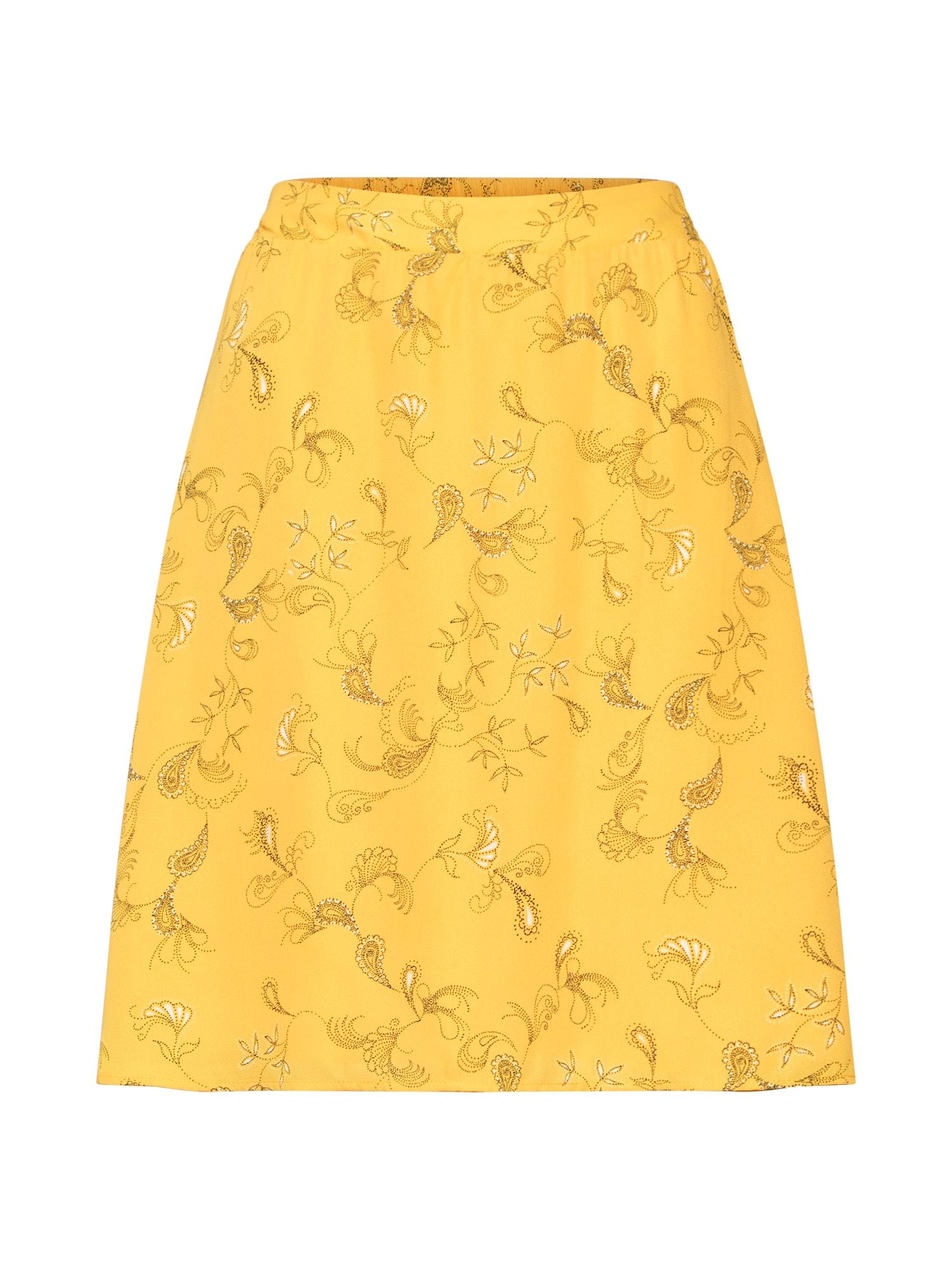 Sukně žlutá VILA
