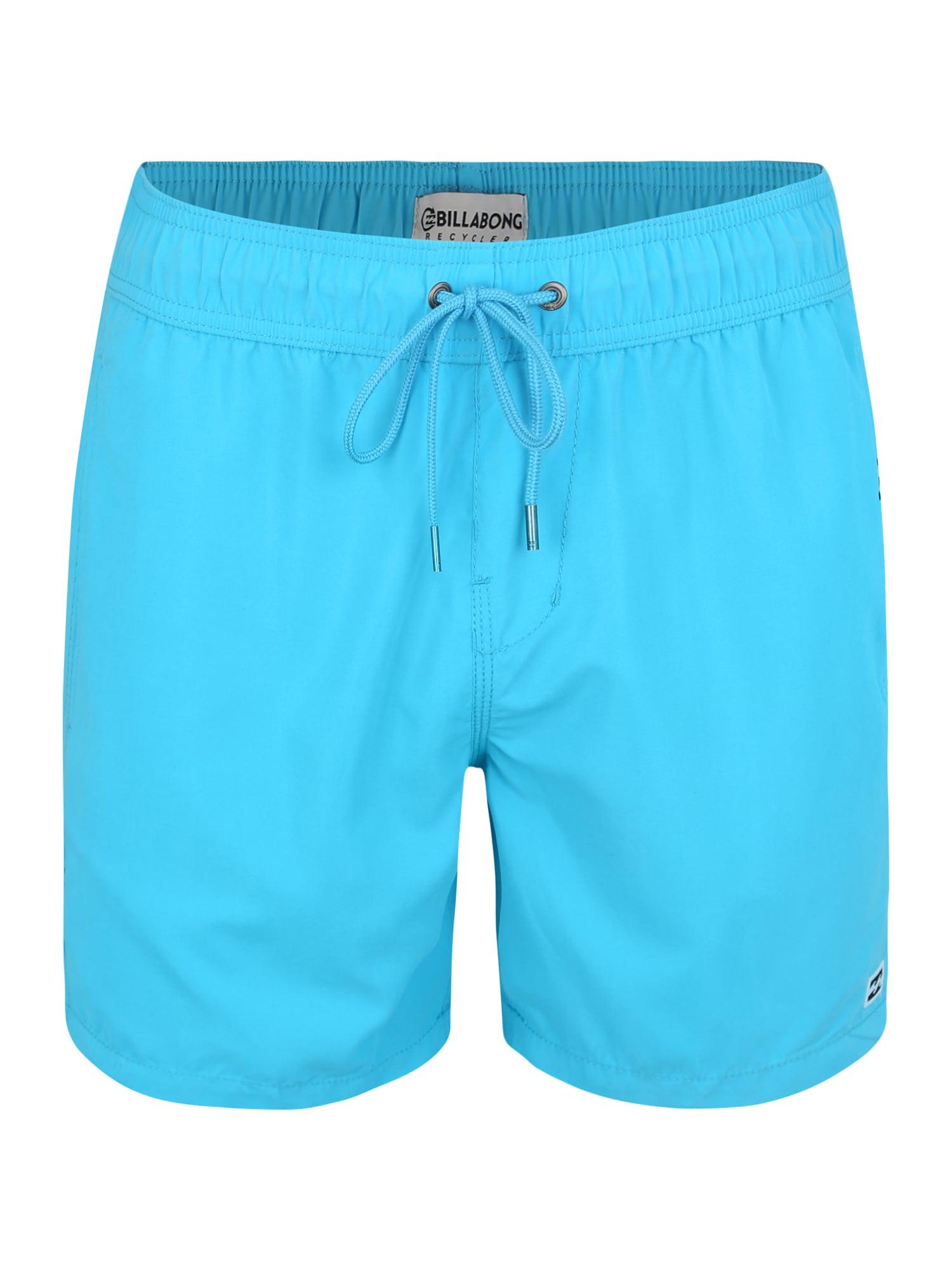Sportovní plavky all day lb  aqua modrá BILLABONG