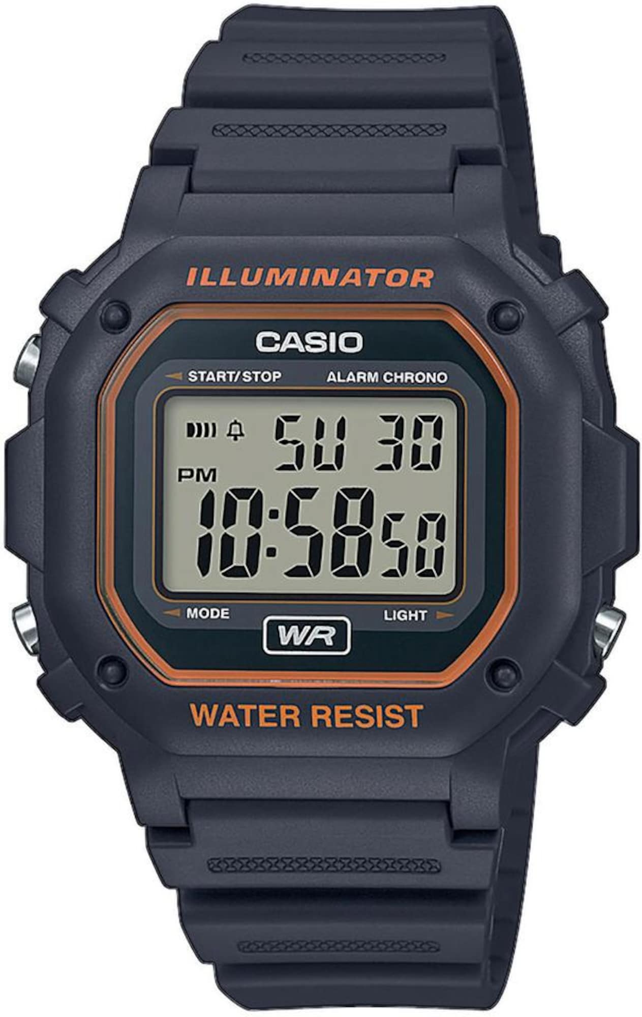 Digitaluhr 'F-108WH-8A2EF' | Uhren > Digitaluhren | Anthrazit | Casio